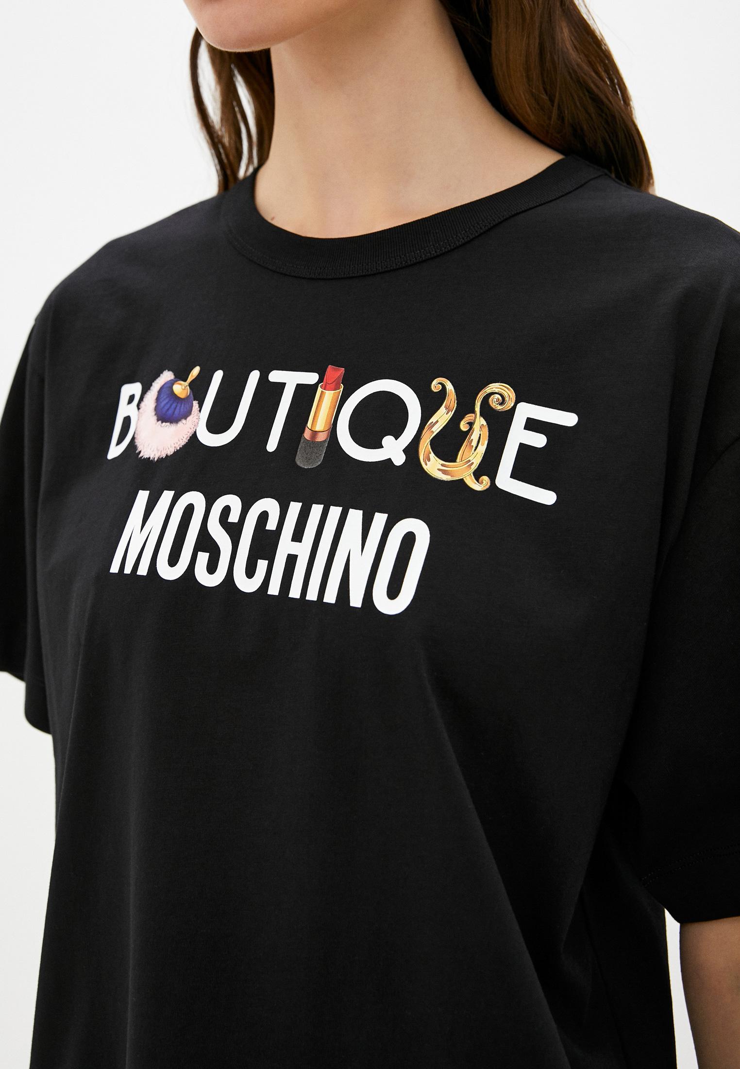 Футболка с коротким рукавом Boutique Moschino J12026160: изображение 5