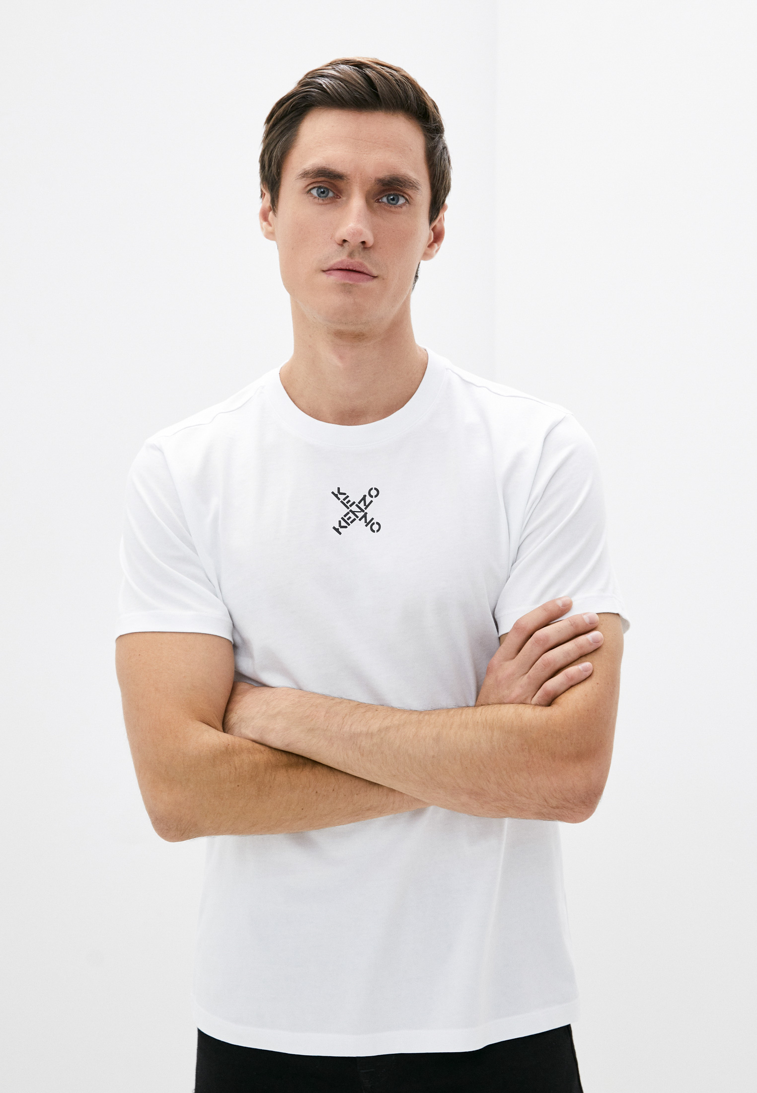 Мужская футболка Kenzo (Кензо) FB65TS0124SJ