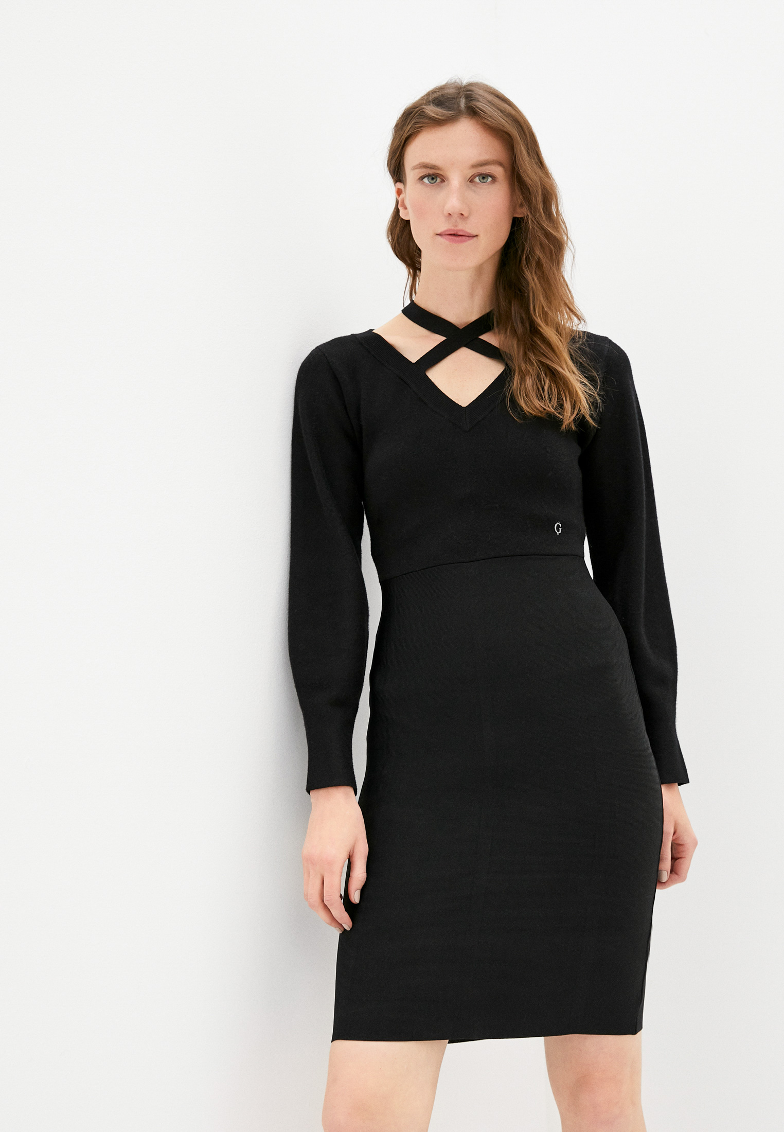 Вязаное платье Guess Jeans W1BK32Z26I0