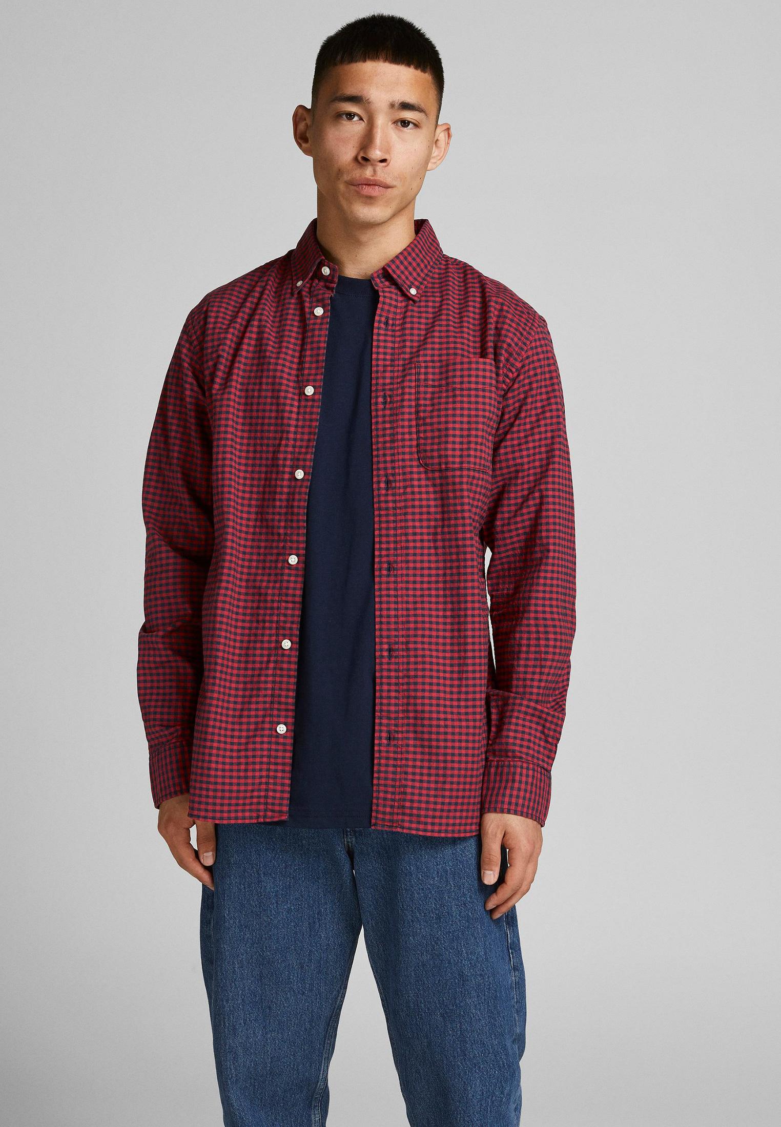 Рубашка с длинным рукавом Jack & Jones (Джек Энд Джонс) 12192149
