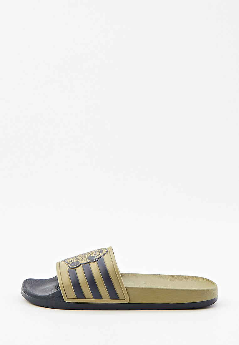 Мужская резиновая обувь Adidas (Адидас) Сланцы adidas