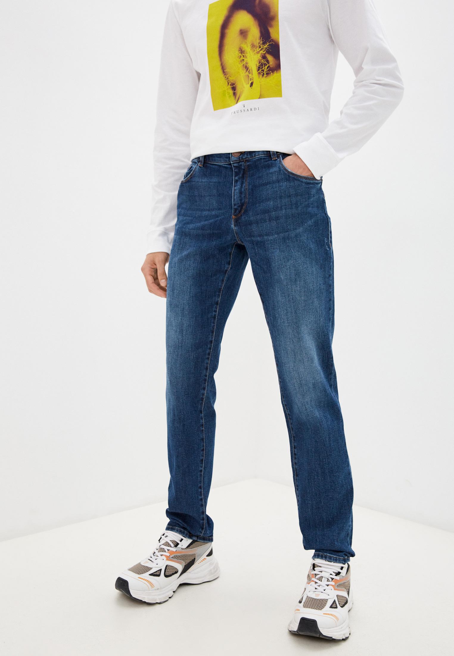 Мужские прямые джинсы Trussardi (Труссарди) 52J00000-1T005431