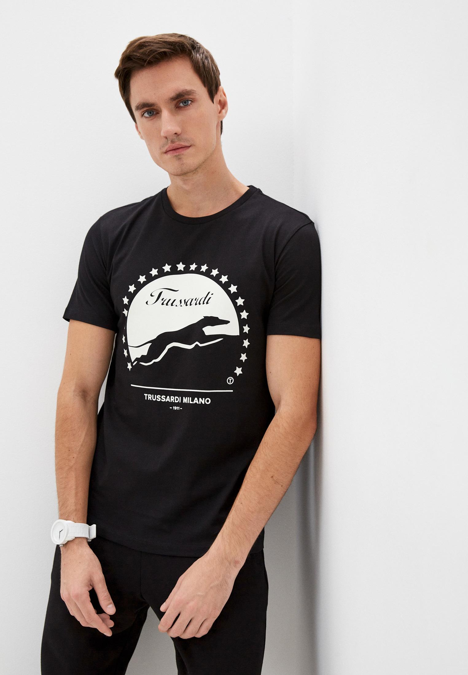 Мужская футболка Trussardi (Труссарди) 52T00449-1T005053
