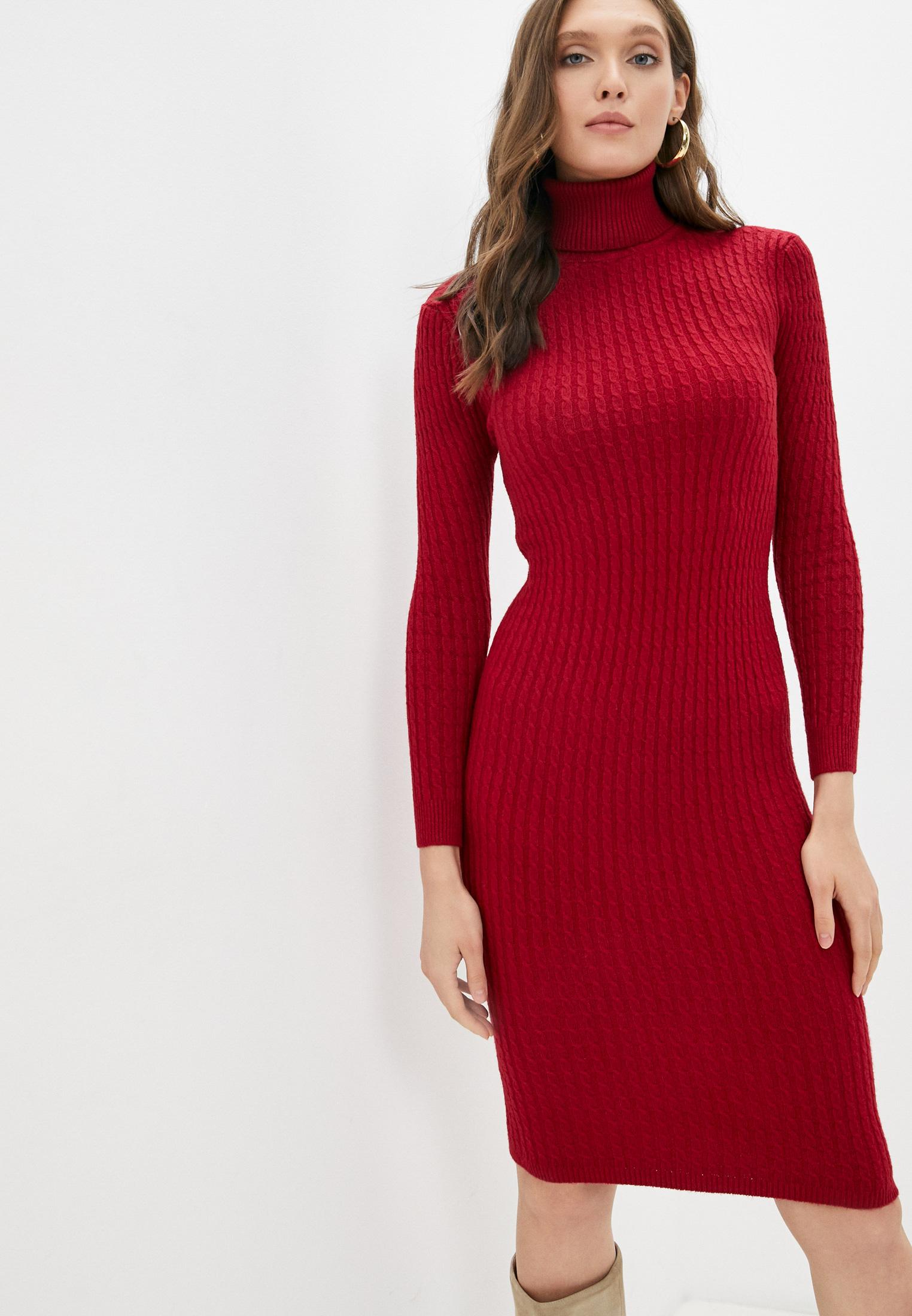 Вязаное платье Pink Orange POFW22-0331-5