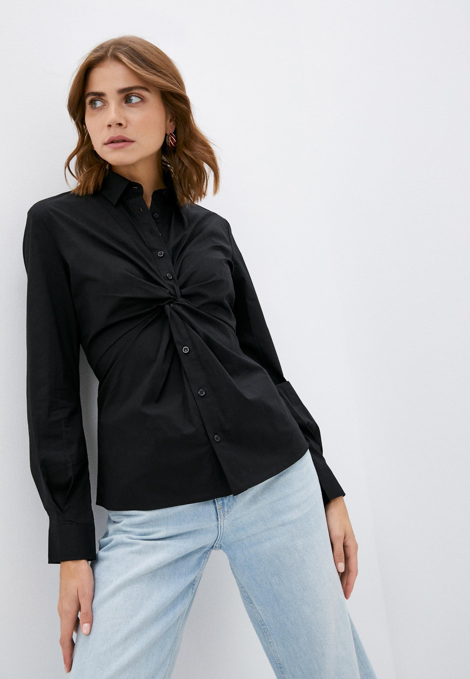 Женские рубашки с длинным рукавом Sisley (Сислей) Рубашка Sisley