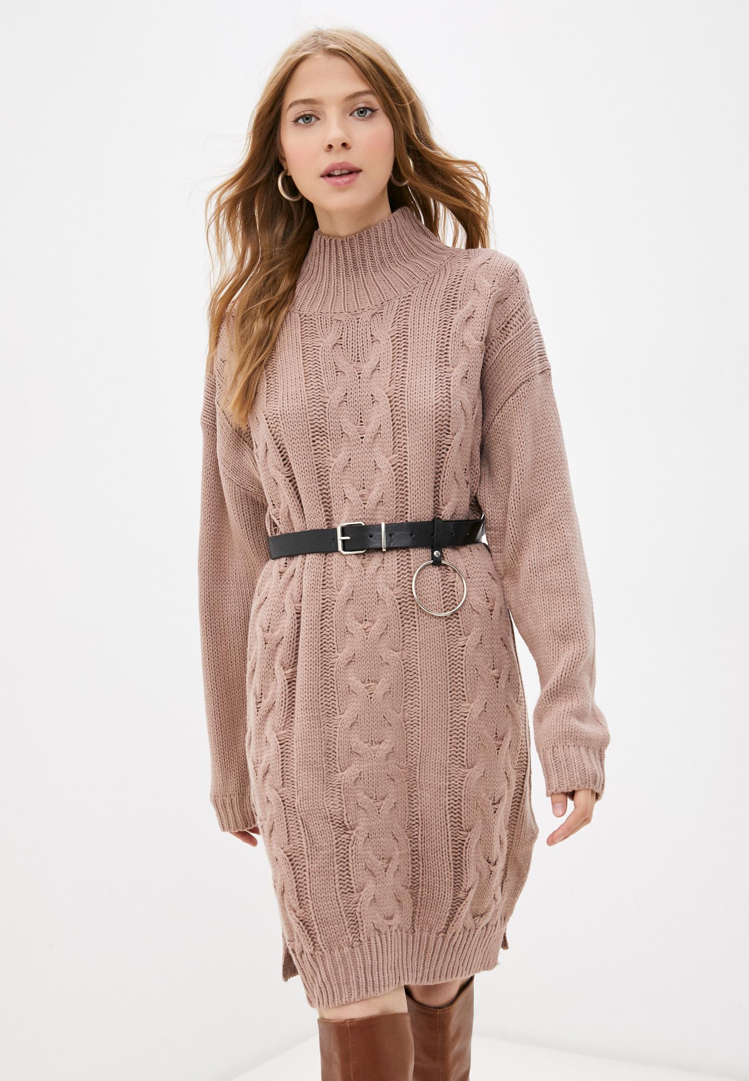 Вязаное платье Goldrai 3304