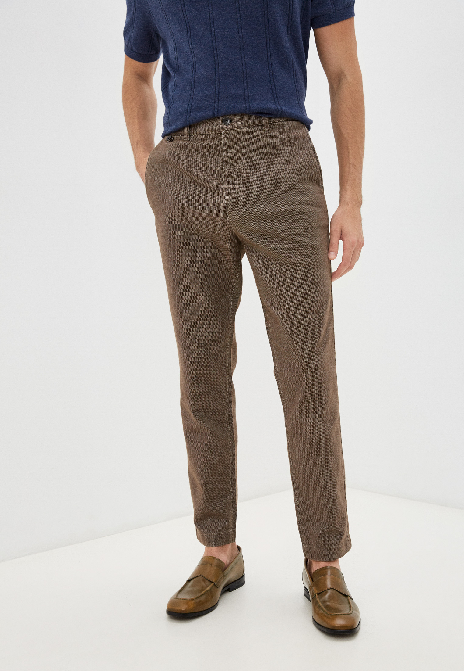 Мужские зауженные брюки United Colors of Benetton (Юнайтед Колорс оф Бенеттон) Брюки United Colors of Benetton