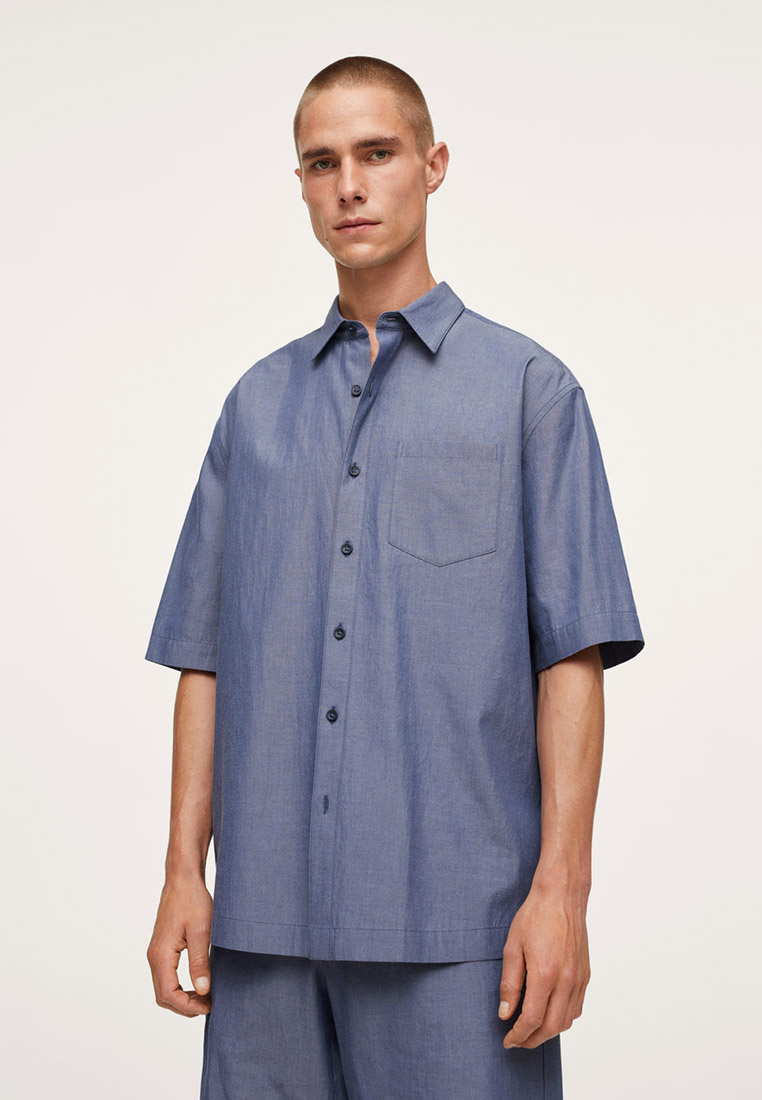 Рубашка с длинным рукавом Mango Man 17022520