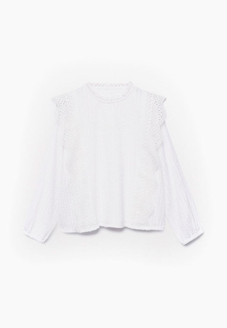 Рубашка Mango Kids (Манго Кидс) 17065130