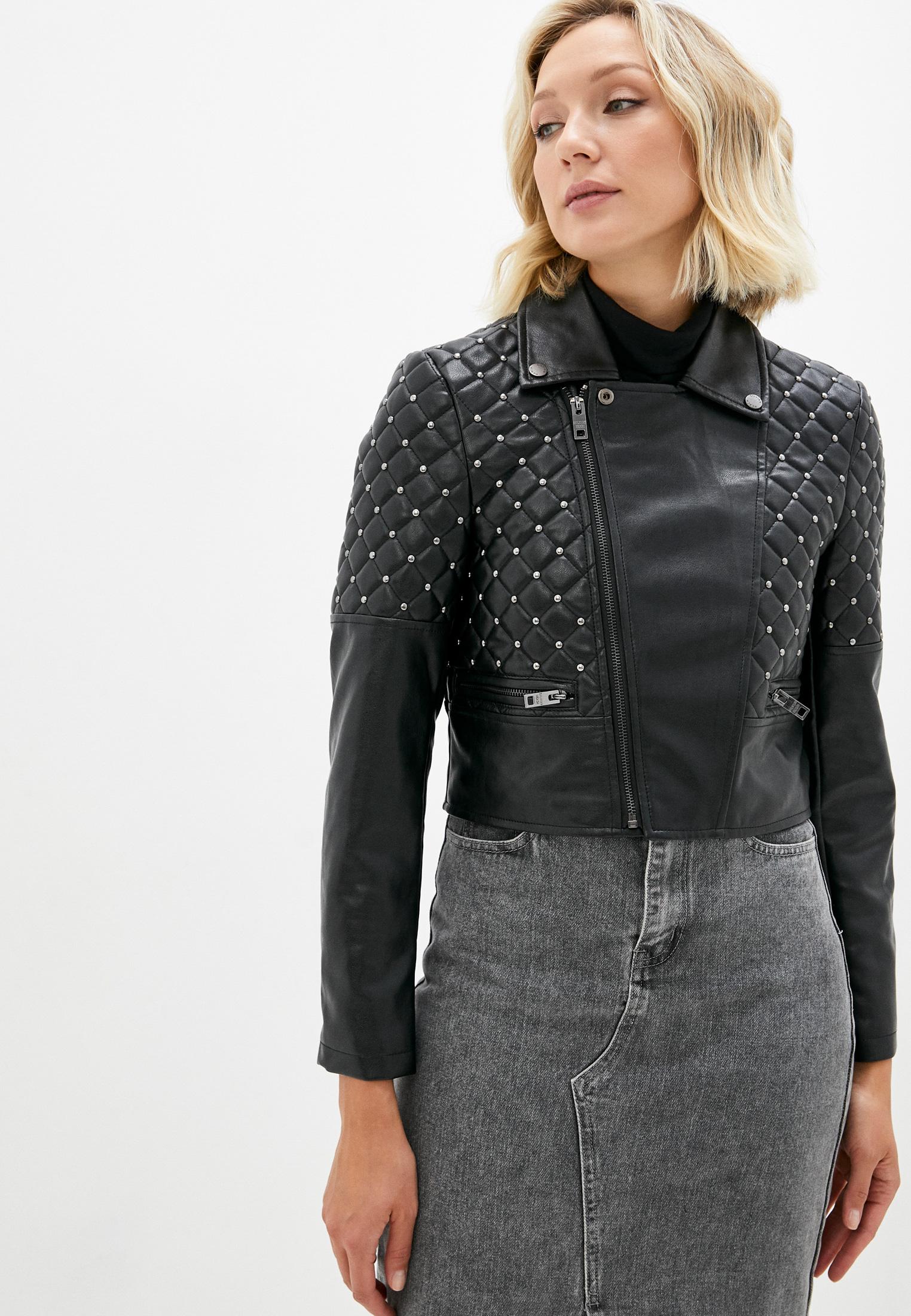 Кожаная куртка Silvian Heach PGA20615GB