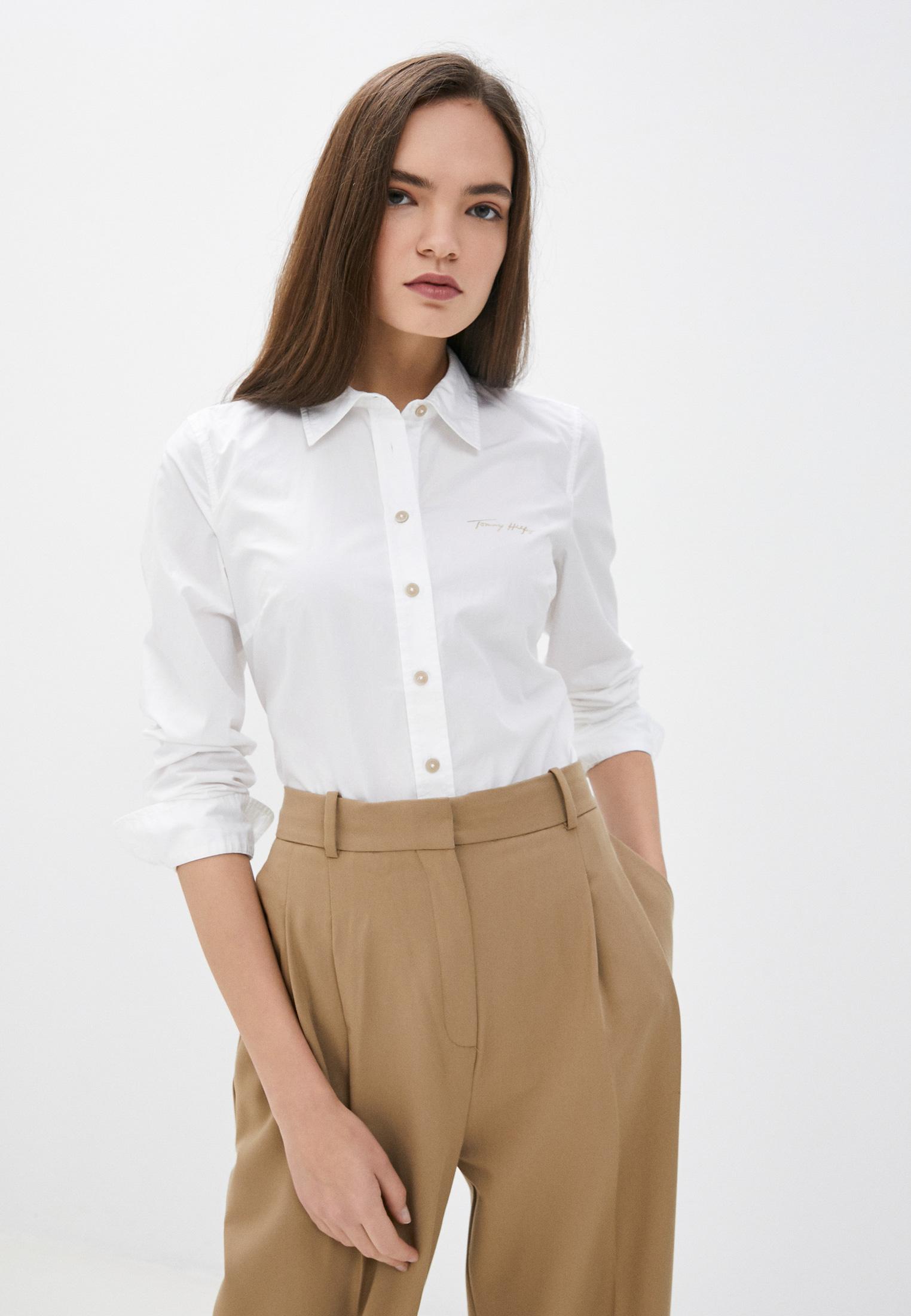 Женские рубашки с длинным рукавом Tommy Hilfiger (Томми Хилфигер) Рубашка Tommy Hilfiger
