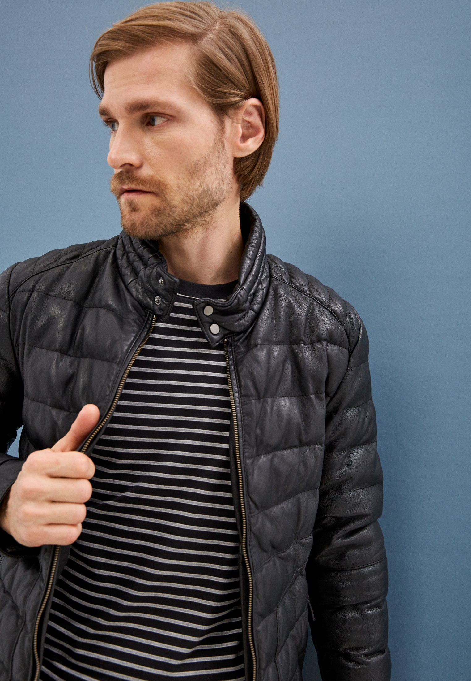 Кожаная куртка Blouson 601: изображение 2