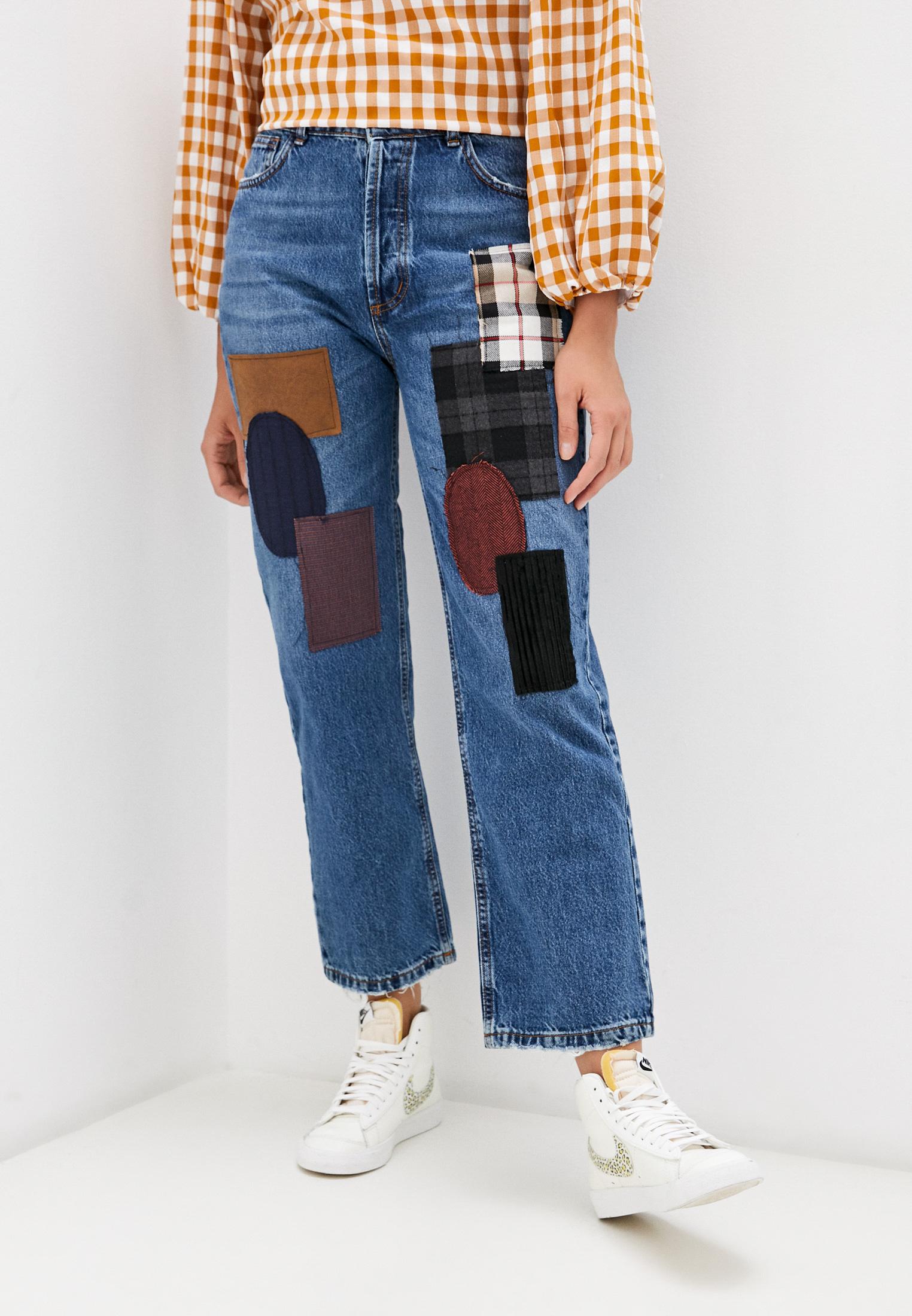 Широкие и расклешенные джинсы Kontatto TT207A