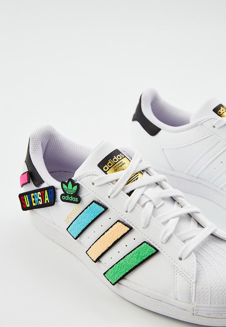 Кеды для мальчиков Adidas Originals (Адидас Ориджиналс) Q47342: изображение 4
