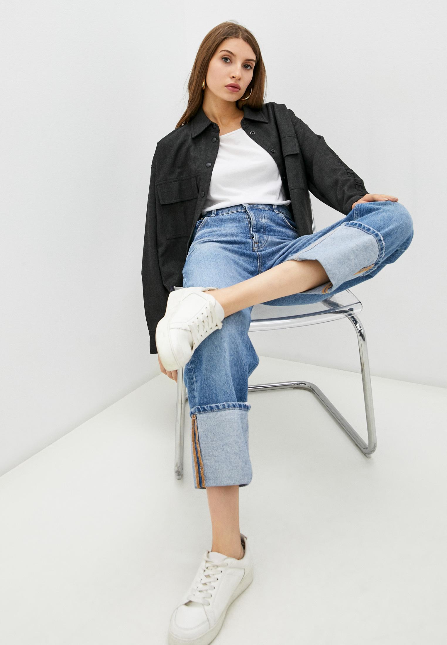 Женские рубашки с длинным рукавом Calvin Klein Jeans J20J216667: изображение 2