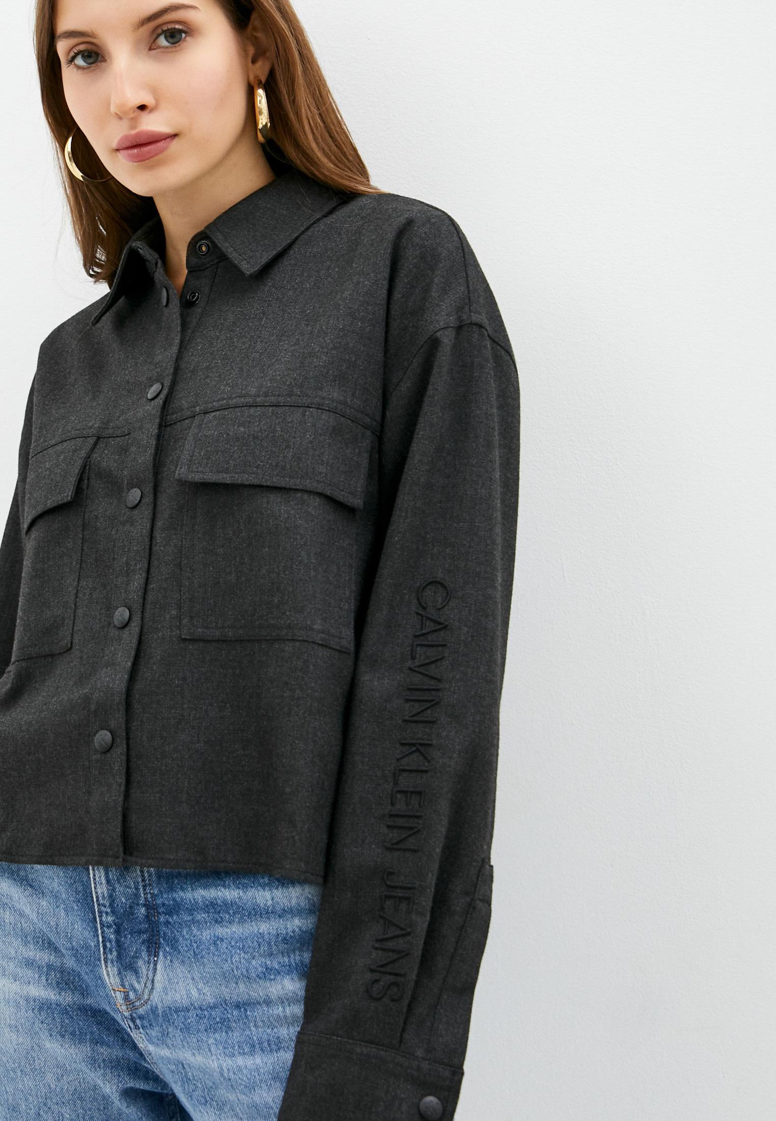 Женские рубашки с длинным рукавом Calvin Klein Jeans J20J216667: изображение 4