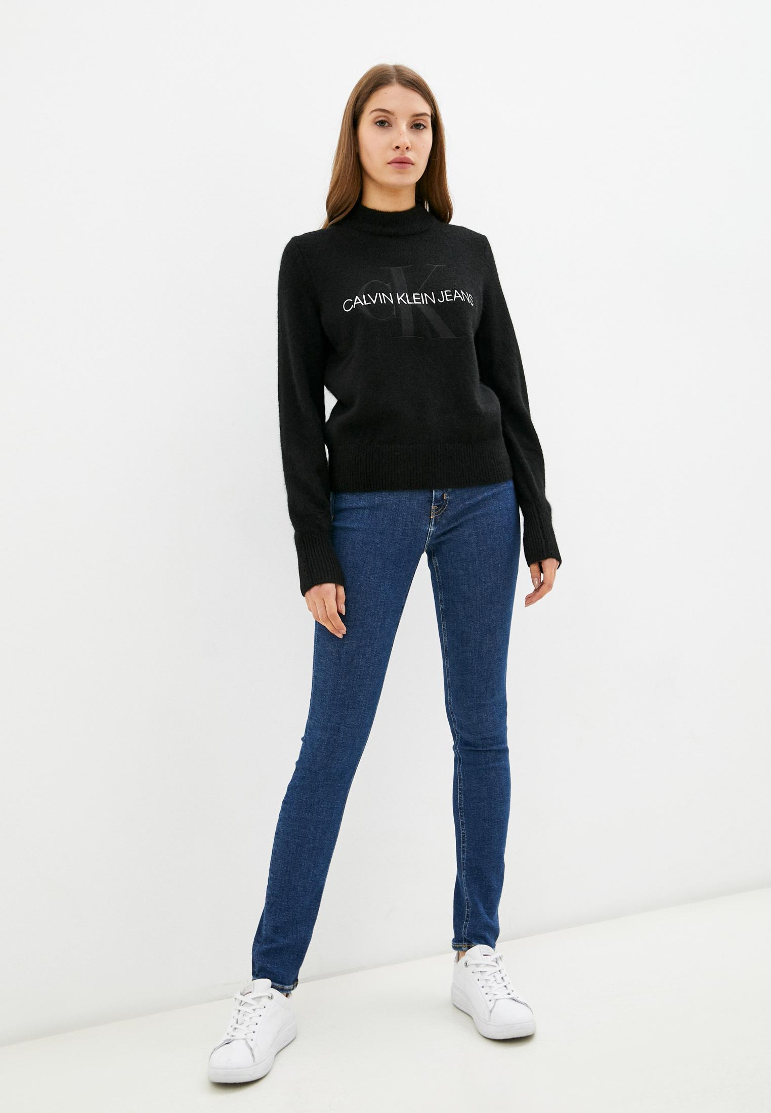Зауженные джинсы Calvin Klein Jeans J20J217450: изображение 2