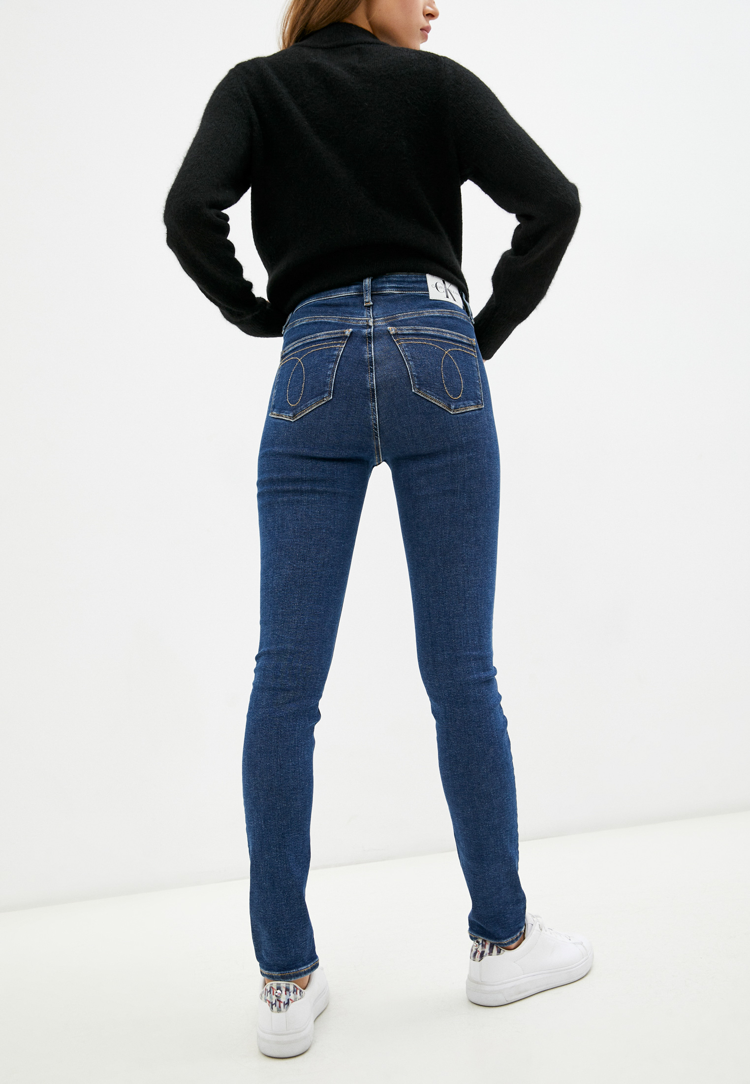 Зауженные джинсы Calvin Klein Jeans J20J217450: изображение 3