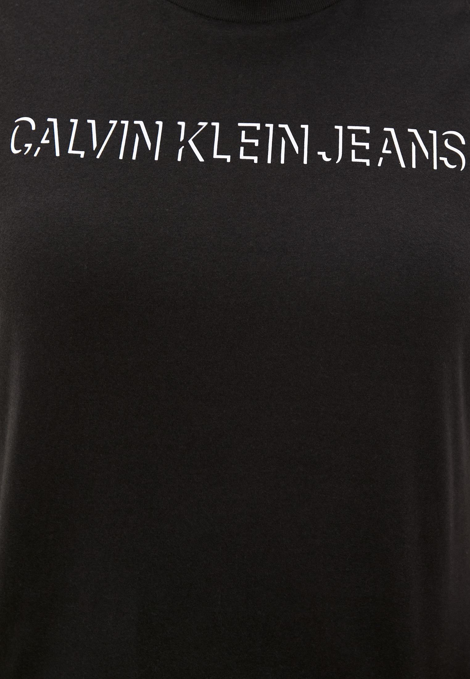 Футболка с коротким рукавом Calvin Klein Jeans J20J217517: изображение 4
