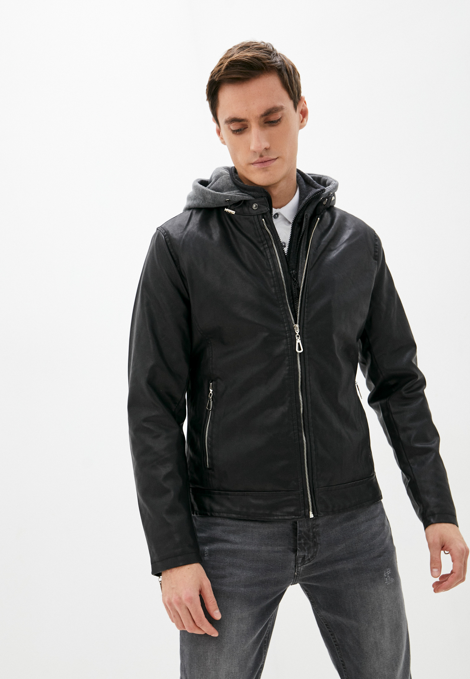 Кожаная куртка Tony Backer (Тони Беккер) Куртка кожаная Tony Backer