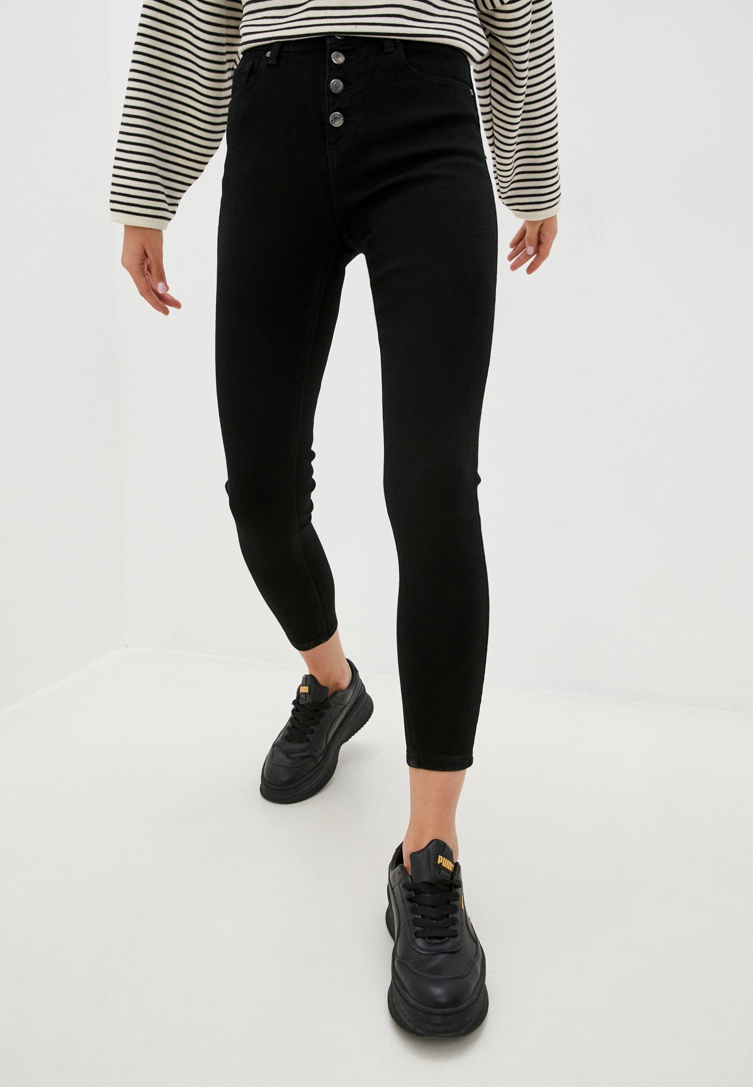 Зауженные джинсы Miss Bon Bon F99-H1005