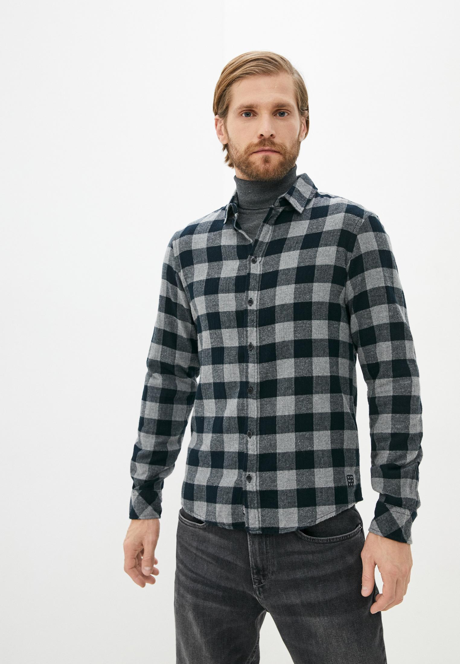 Рубашка с длинным рукавом Blend (Бленд) Рубашка Blend