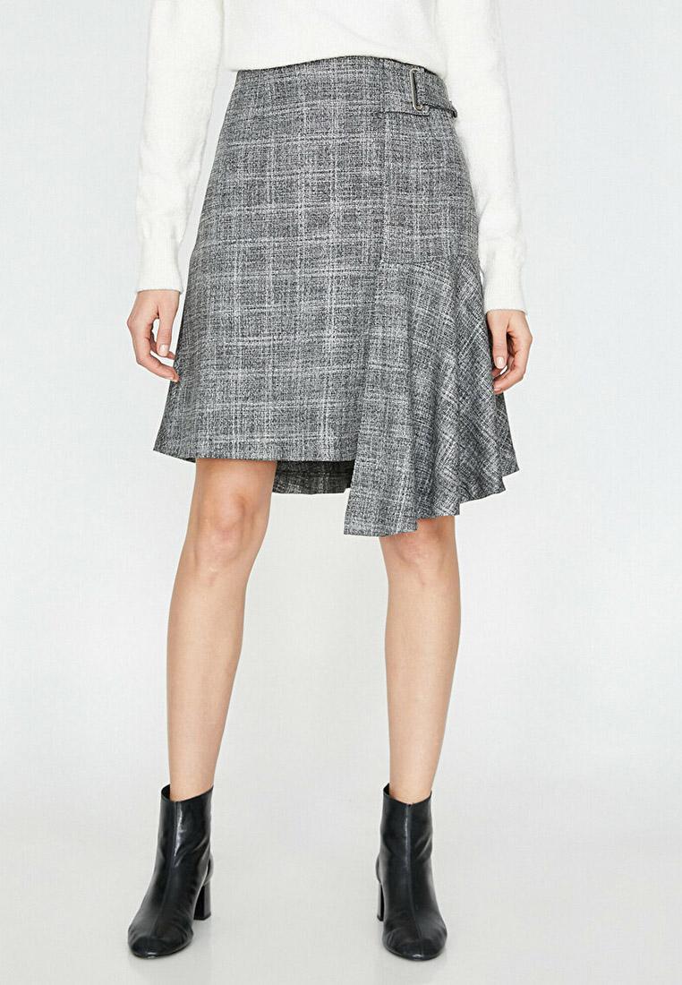 Широкая юбка Koton 9YAK73898EW
