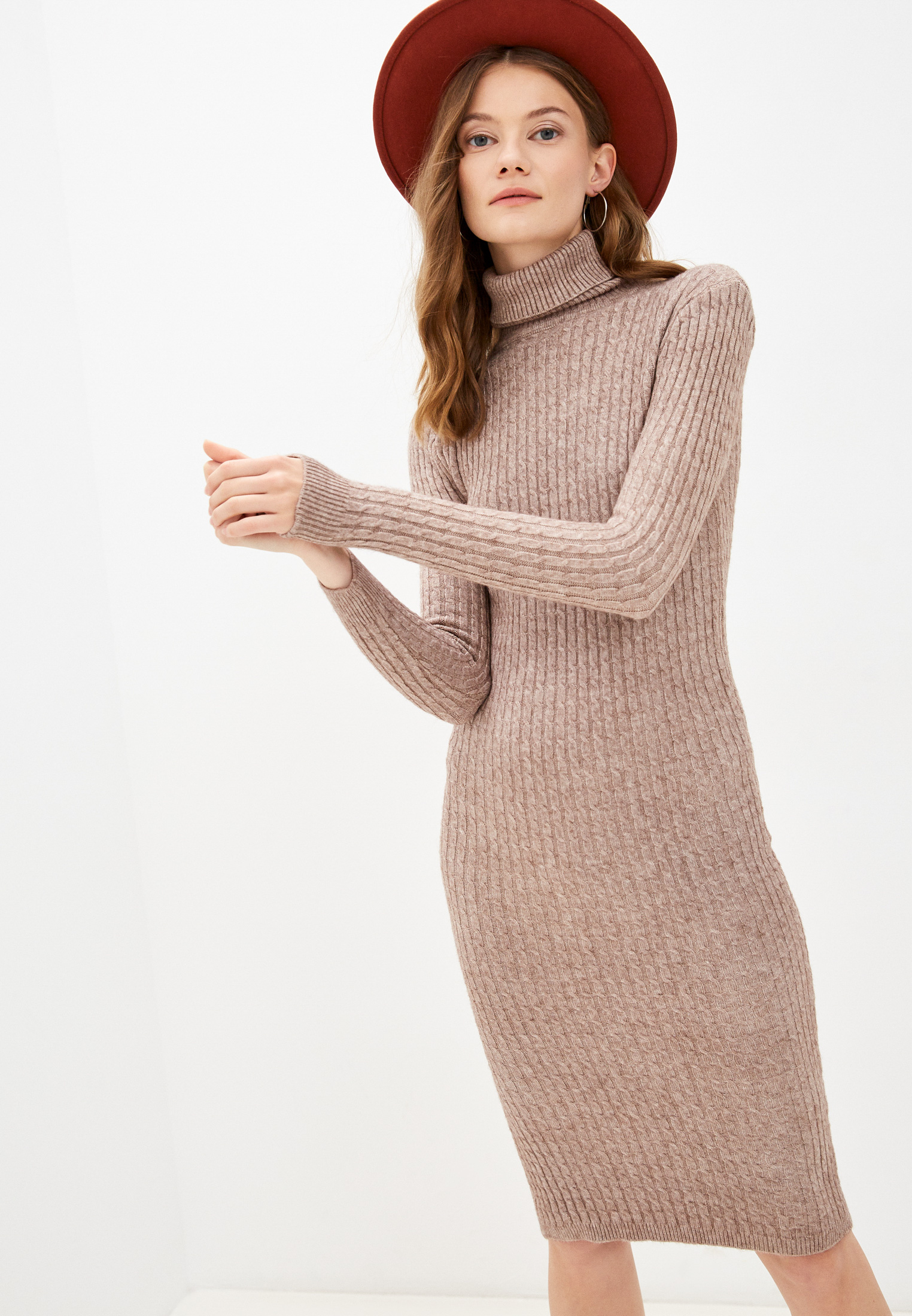 Вязаное платье Vickwool VW272