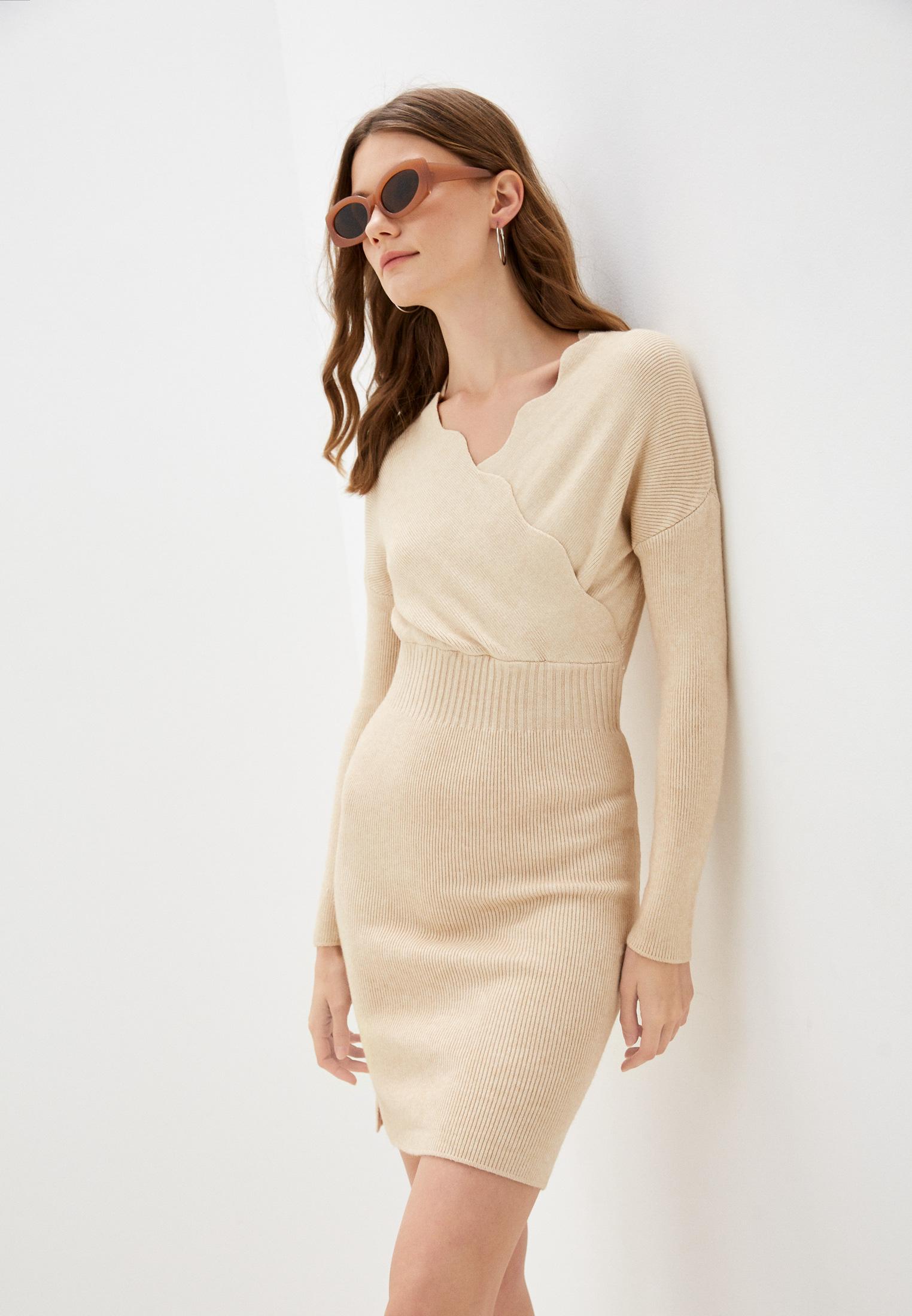 Вязаное платье Vickwool VW274-2