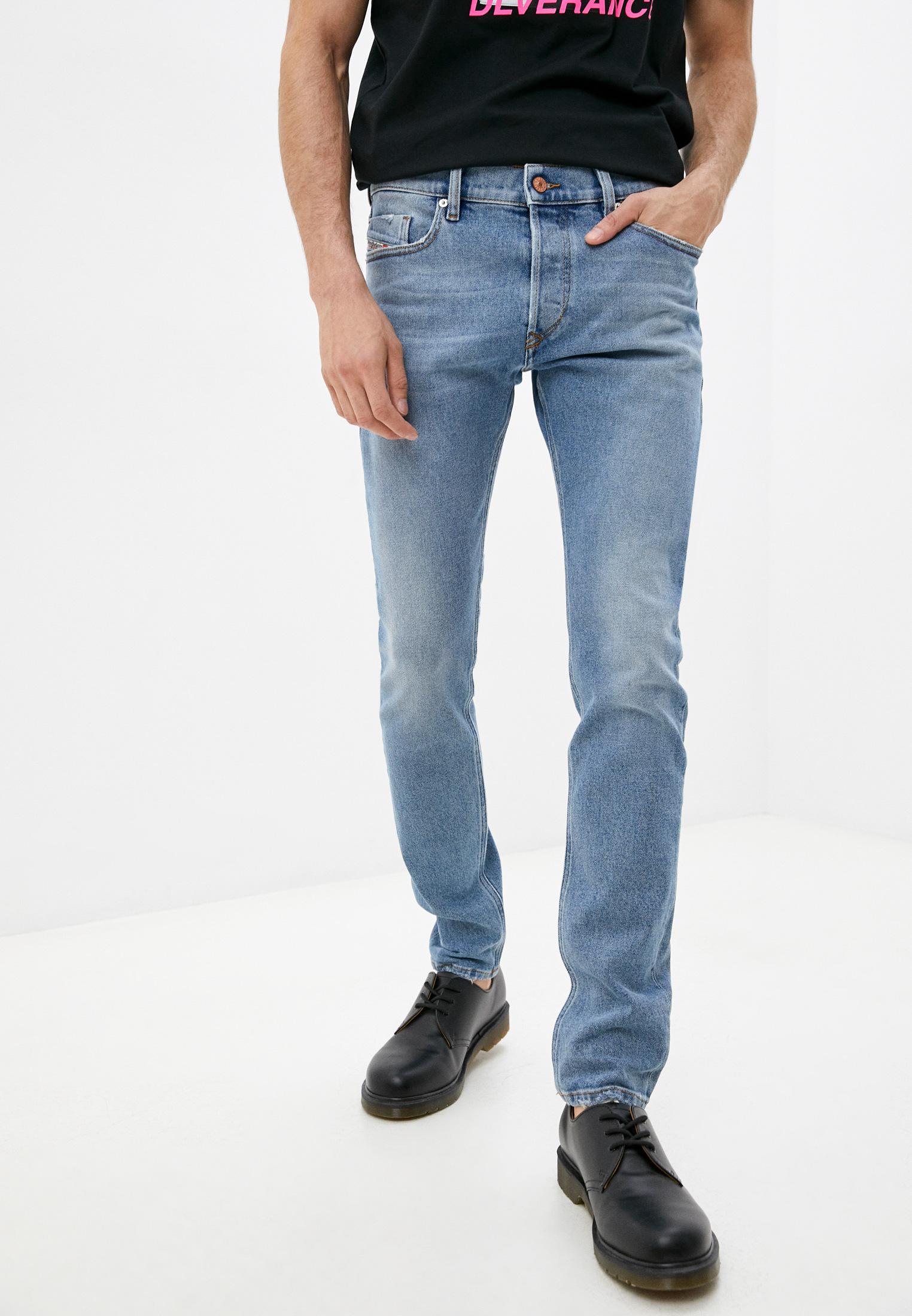 Мужские зауженные джинсы Diesel (Дизель) 00SWID0096Y