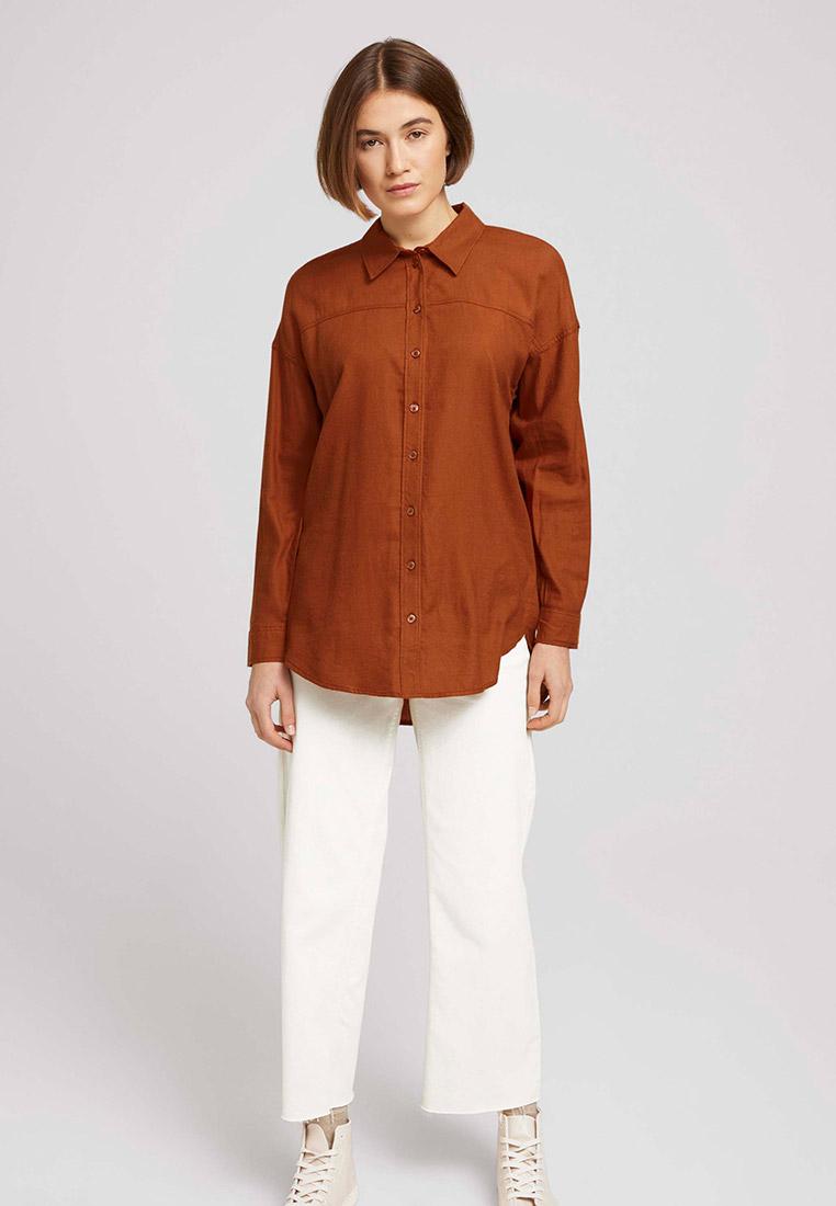Женские рубашки с длинным рукавом Tom Tailor Denim Рубашка Tom Tailor Denim