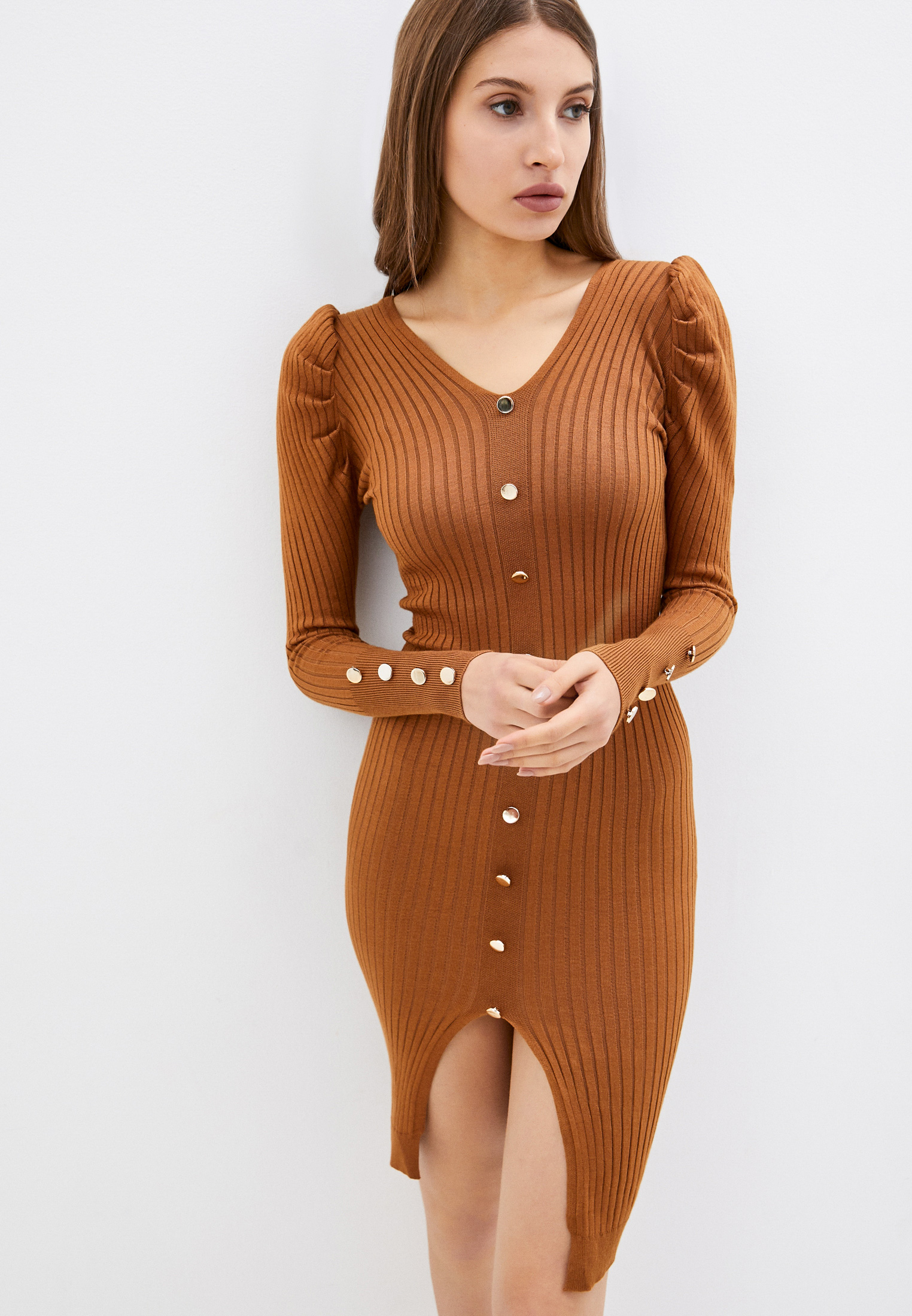 Вязаное платье Fragarika FR-1226