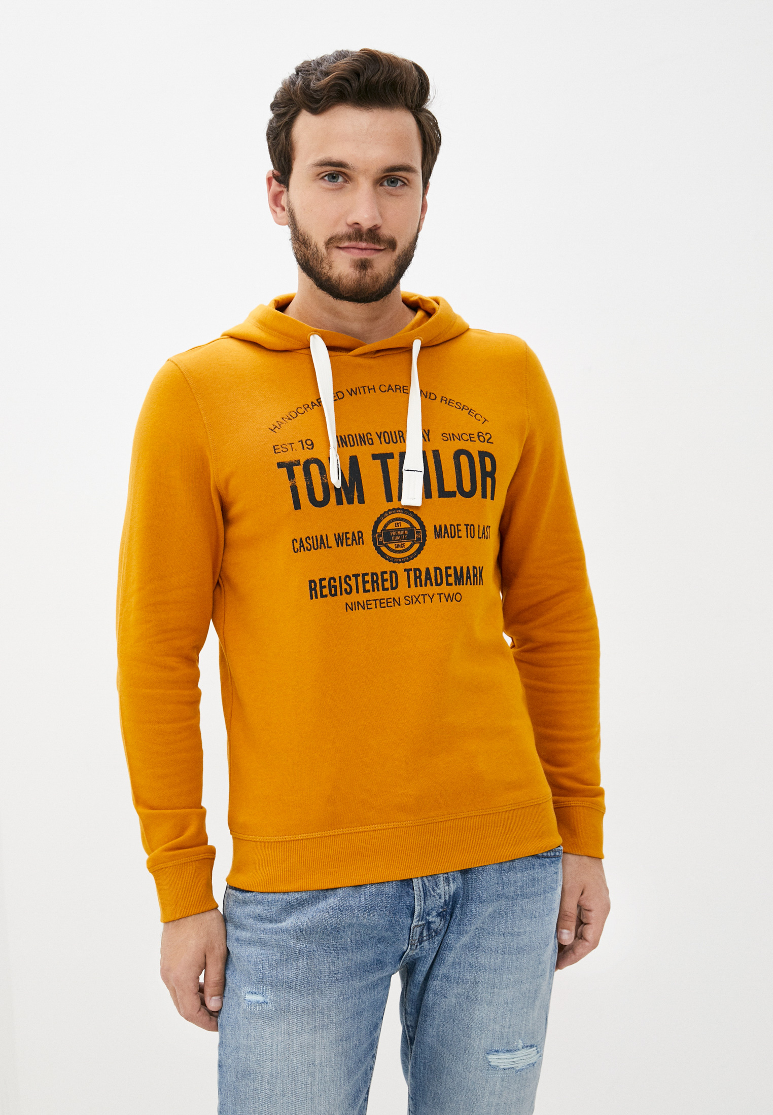 Мужские худи Tom Tailor (Том Тейлор) Худи Tom Tailor