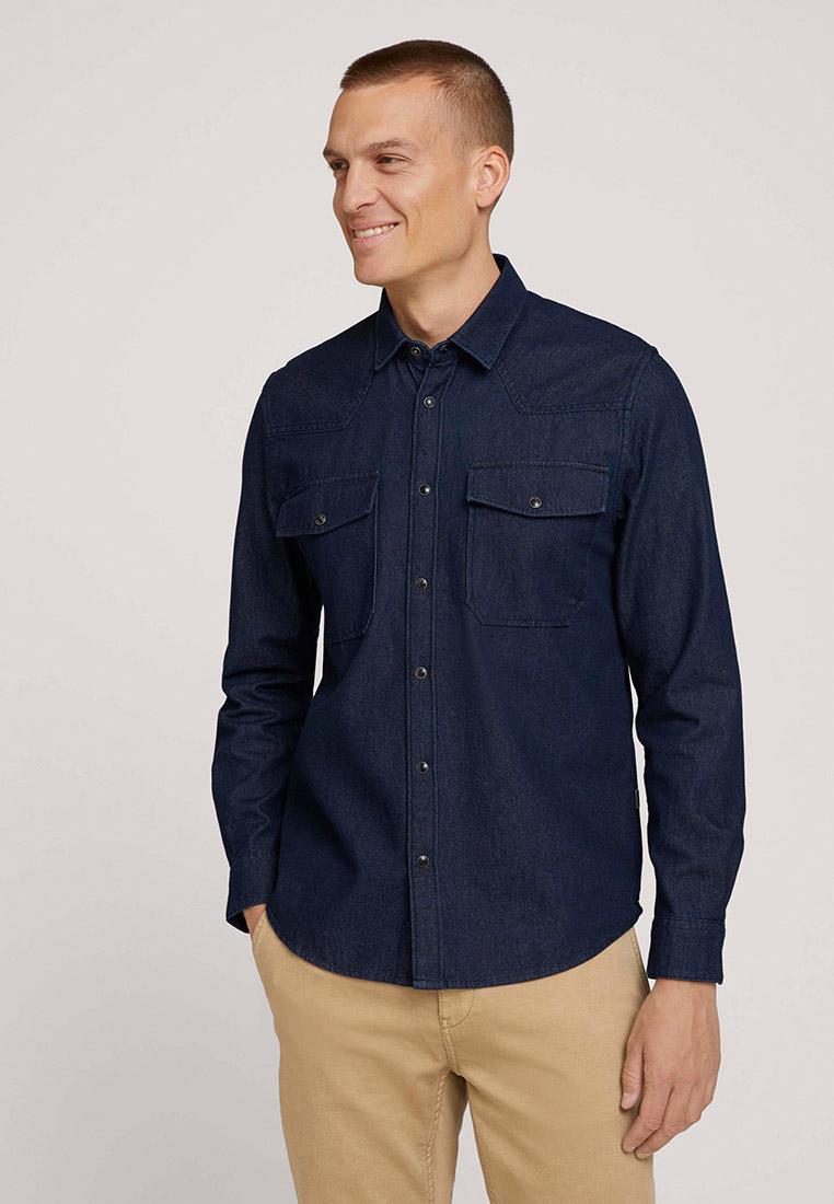 Рубашка Tom Tailor (Том Тейлор) Рубашка джинсовая Tom Tailor
