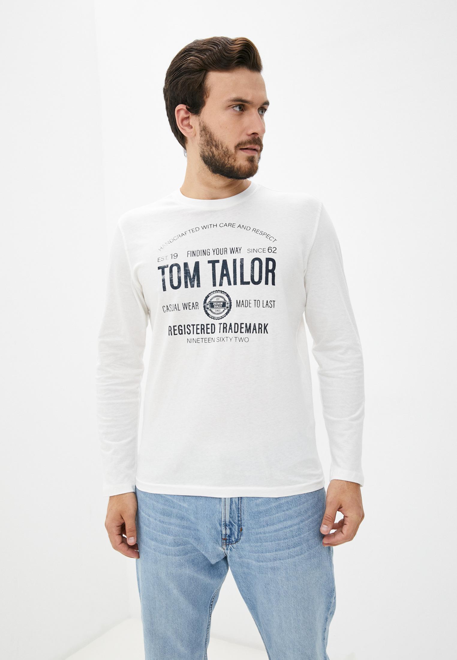 Футболка с длинным рукавом Tom Tailor (Том Тейлор) Лонгслив Tom Tailor
