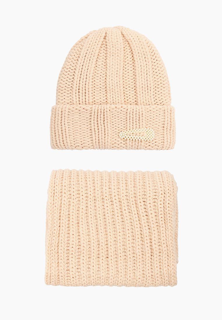 Комплект TrendyAngel Шапка, шарф и заколка TrendyAngel