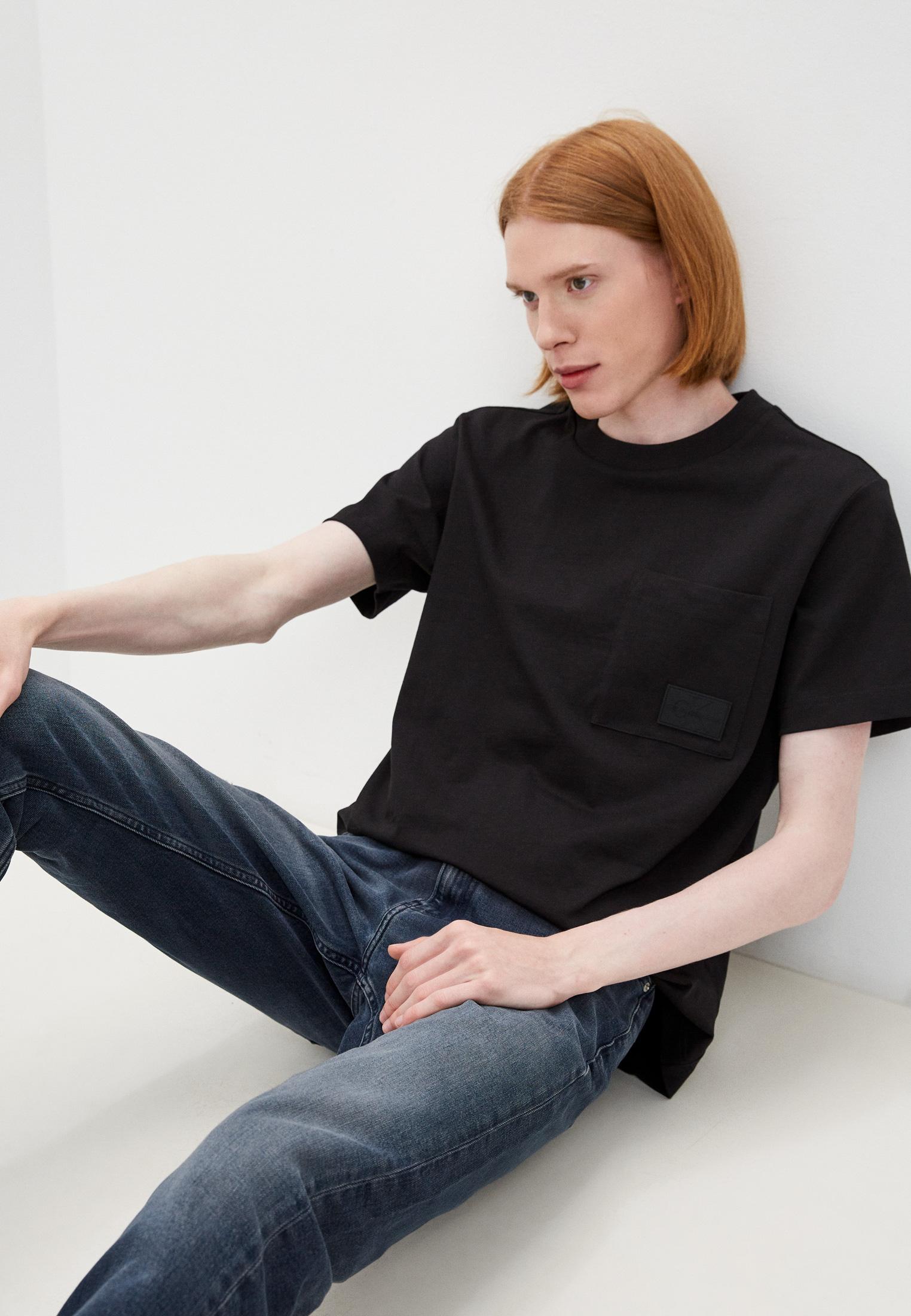 Футболка с коротким рукавом Calvin Klein Jeans J30J317291: изображение 1