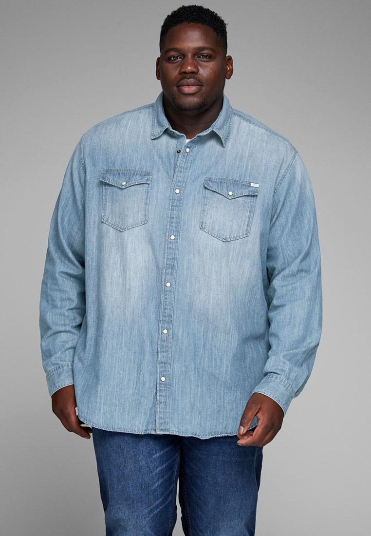 Рубашка Jack & Jones (Джек Энд Джонс) Рубашка джинсовая Jack & Jones