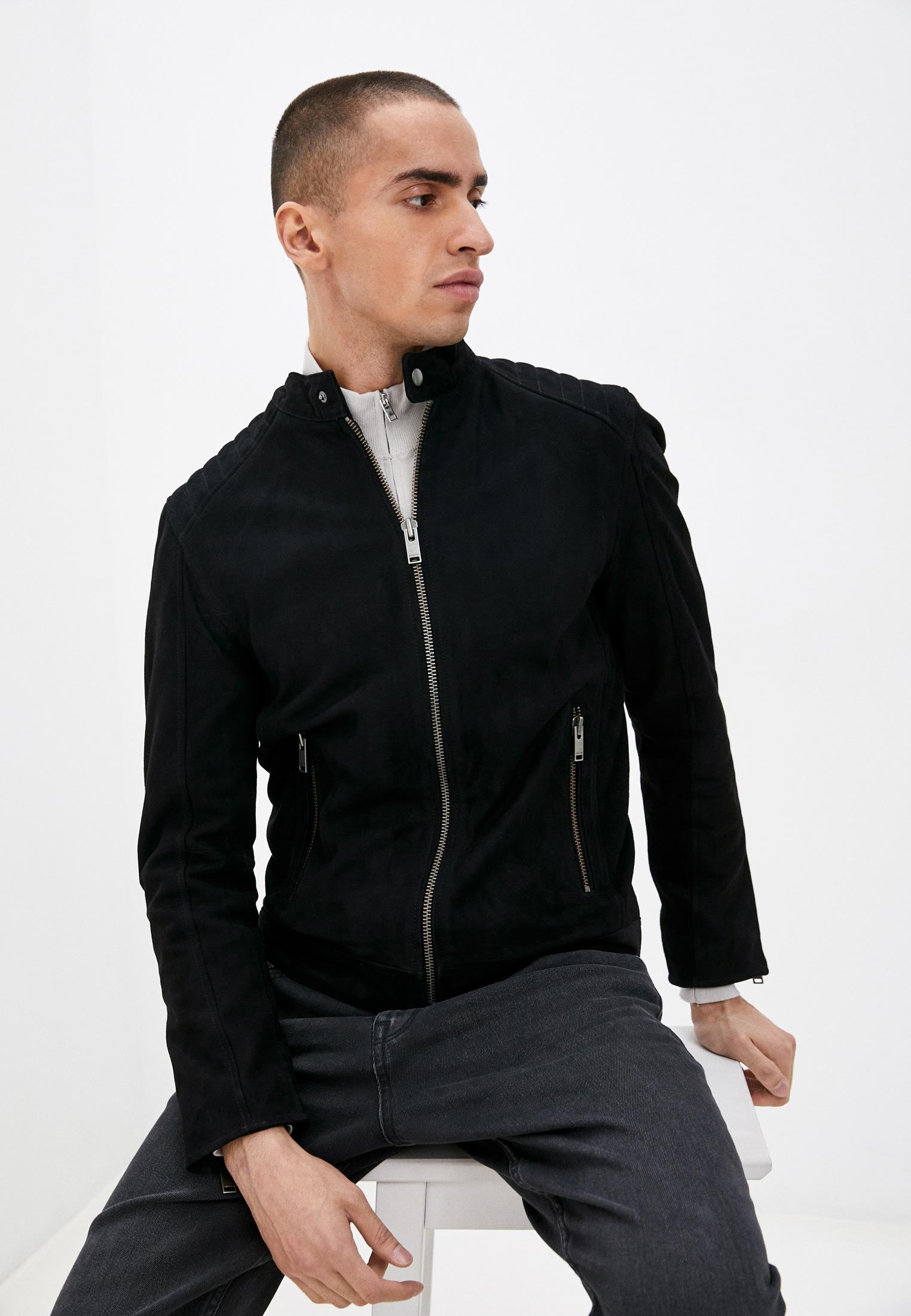 Кожаная куртка Selected Homme Куртка кожаная Selected Homme