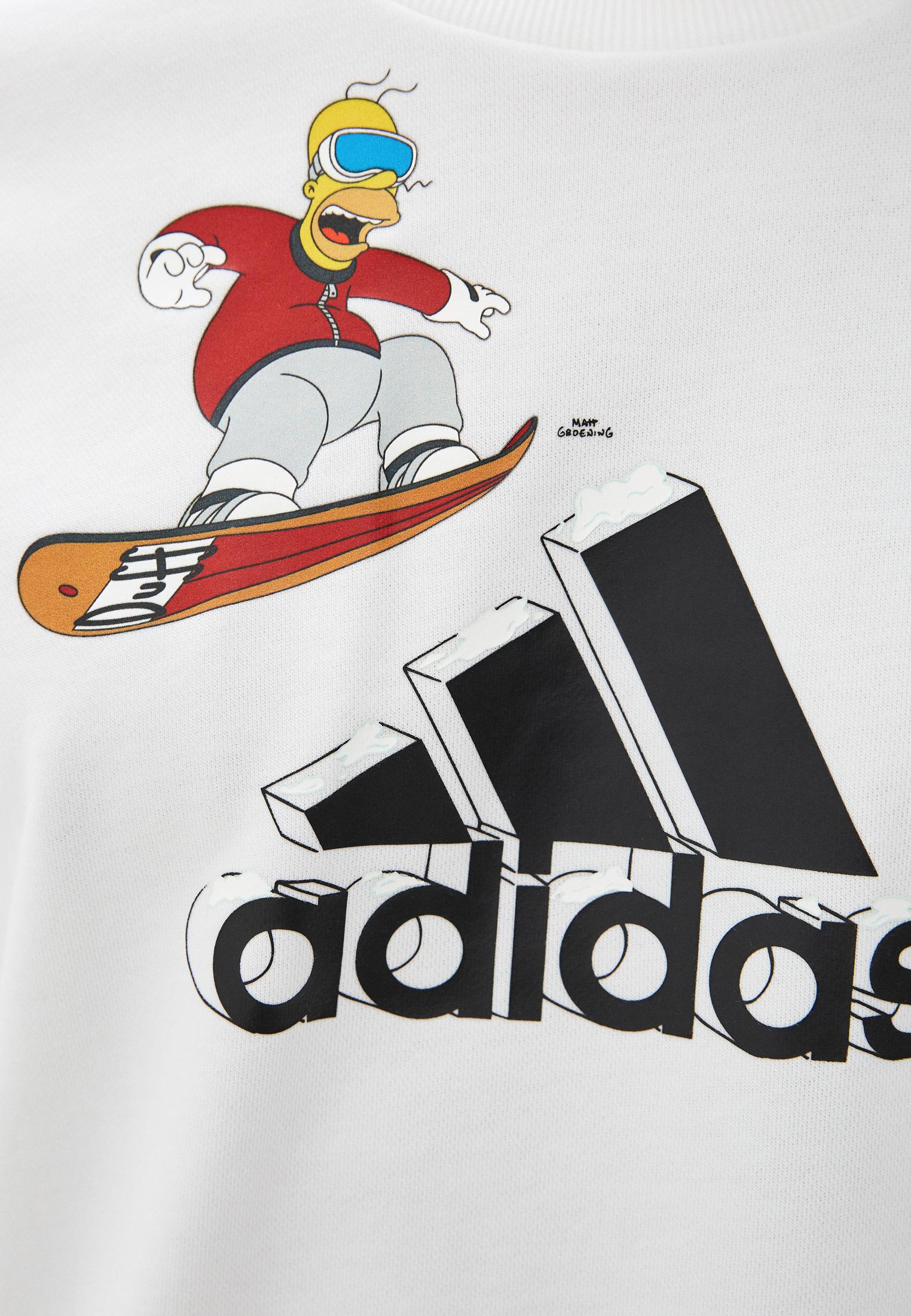 Толстовка Adidas (Адидас) GS6310: изображение 4