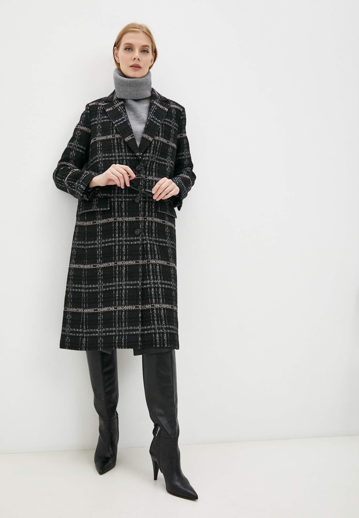 Женские пальто Karl Lagerfeld 216W1501