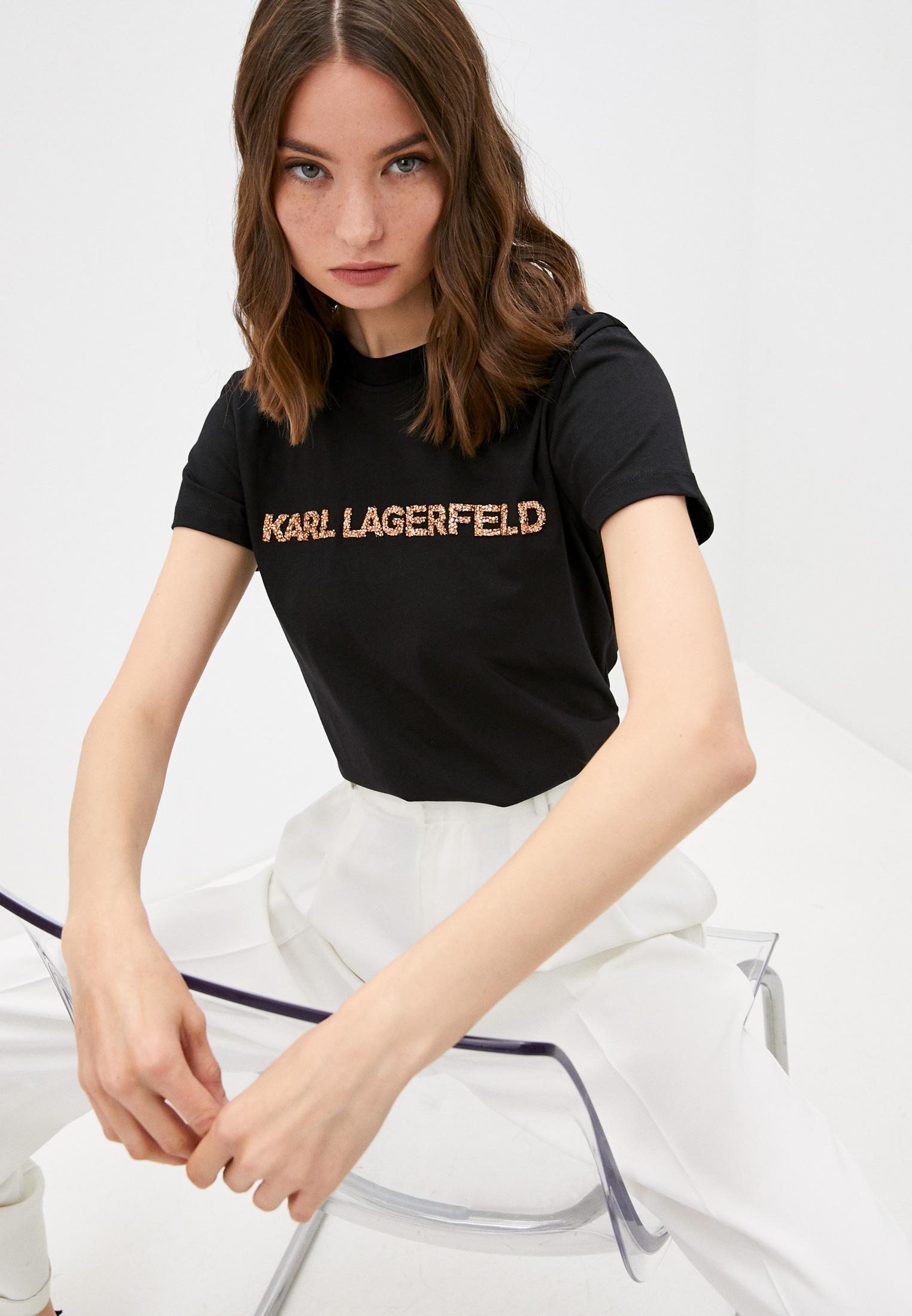 Футболка с коротким рукавом Karl Lagerfeld 216W1700