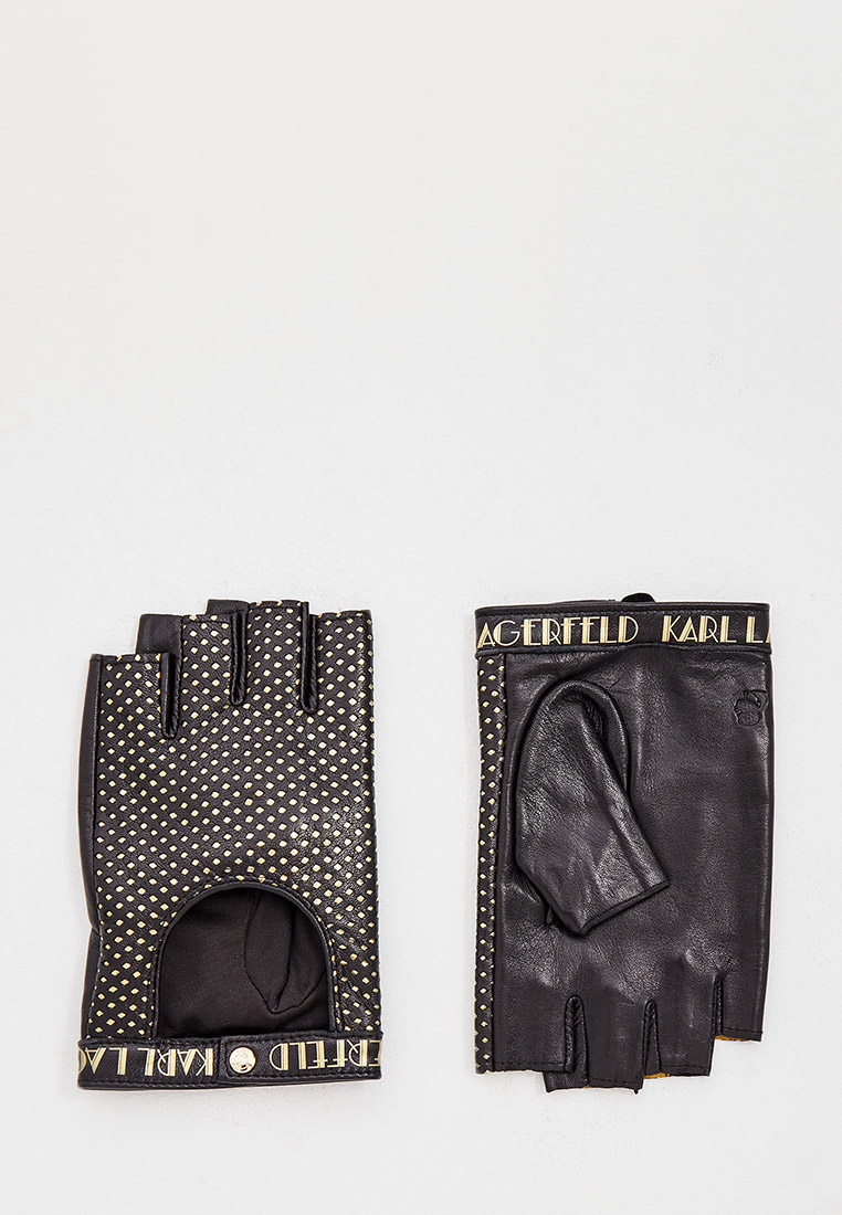 Женские перчатки Karl Lagerfeld Митенки Karl Lagerfeld