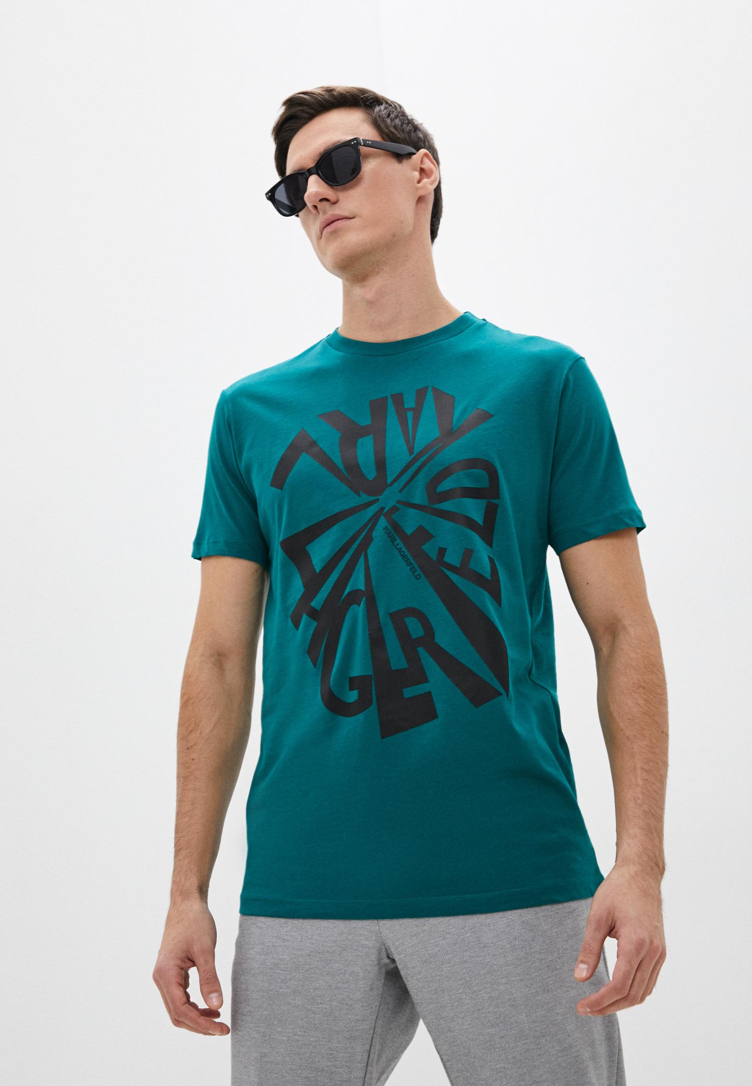 Мужская футболка Karl Lagerfeld (Карл Лагерфельд) 512224-755102