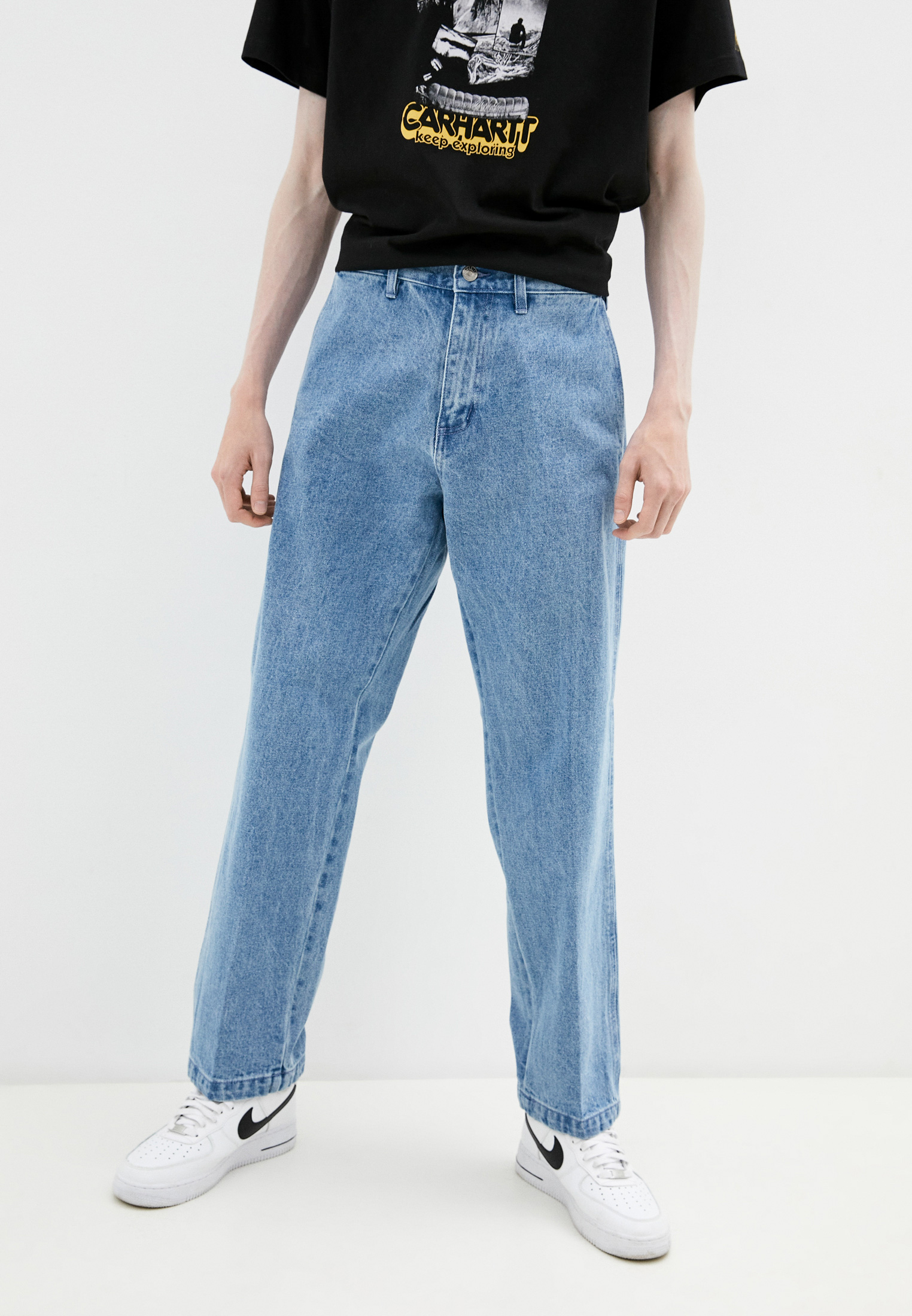 Мужские прямые джинсы Obey 142010078