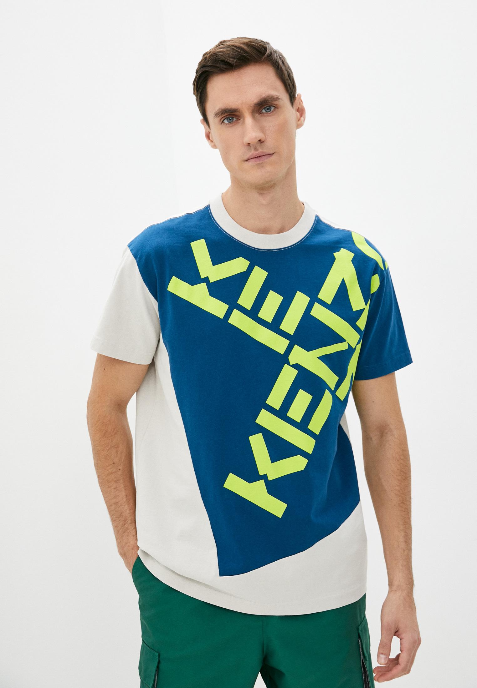Мужская футболка Kenzo (Кензо) FB65TS0314SK