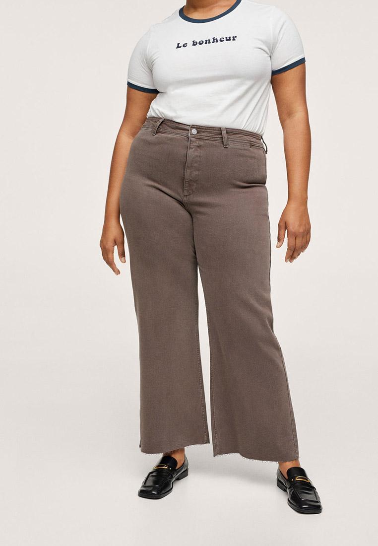 Широкие и расклешенные джинсы Violeta by Mango (Виолетта бай Манго) Джинсы Violeta by Mango