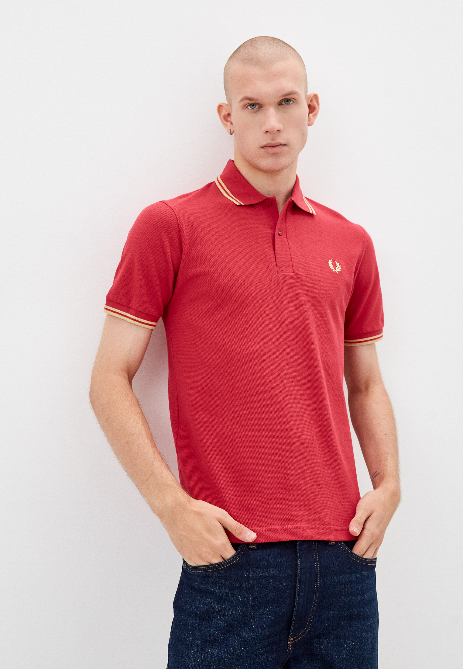 Мужские поло Fred Perry Поло Fred Perry