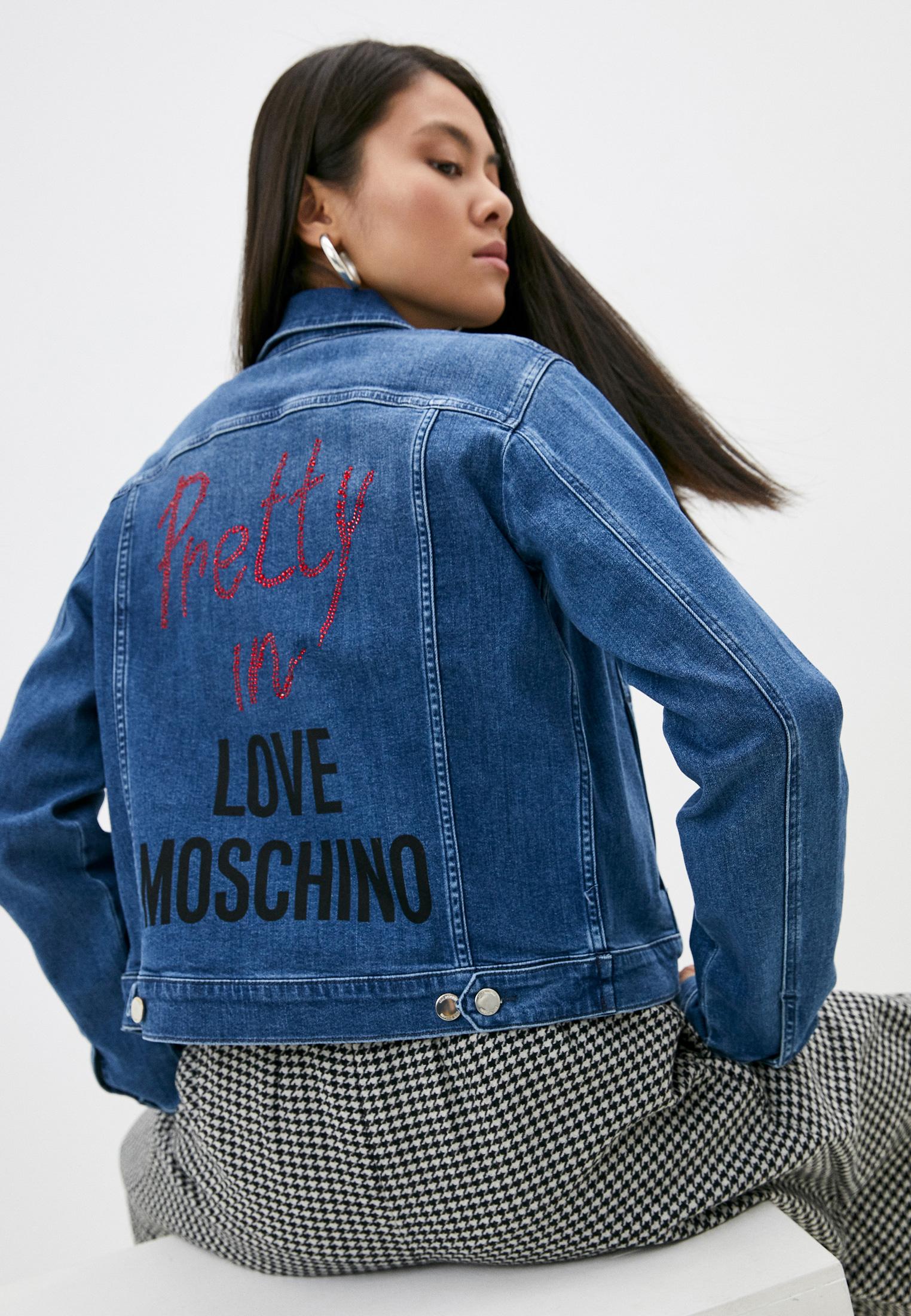 Джинсовая куртка Love Moschino WH60910S3379