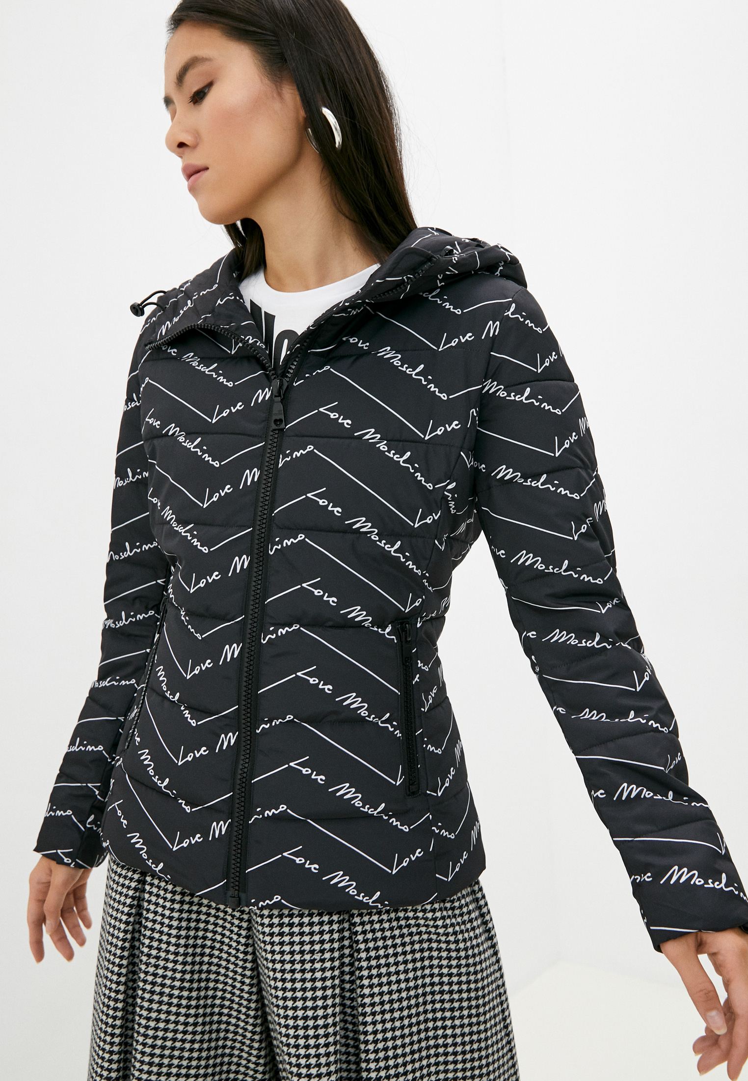 Утепленная куртка Love Moschino WH75100T043A